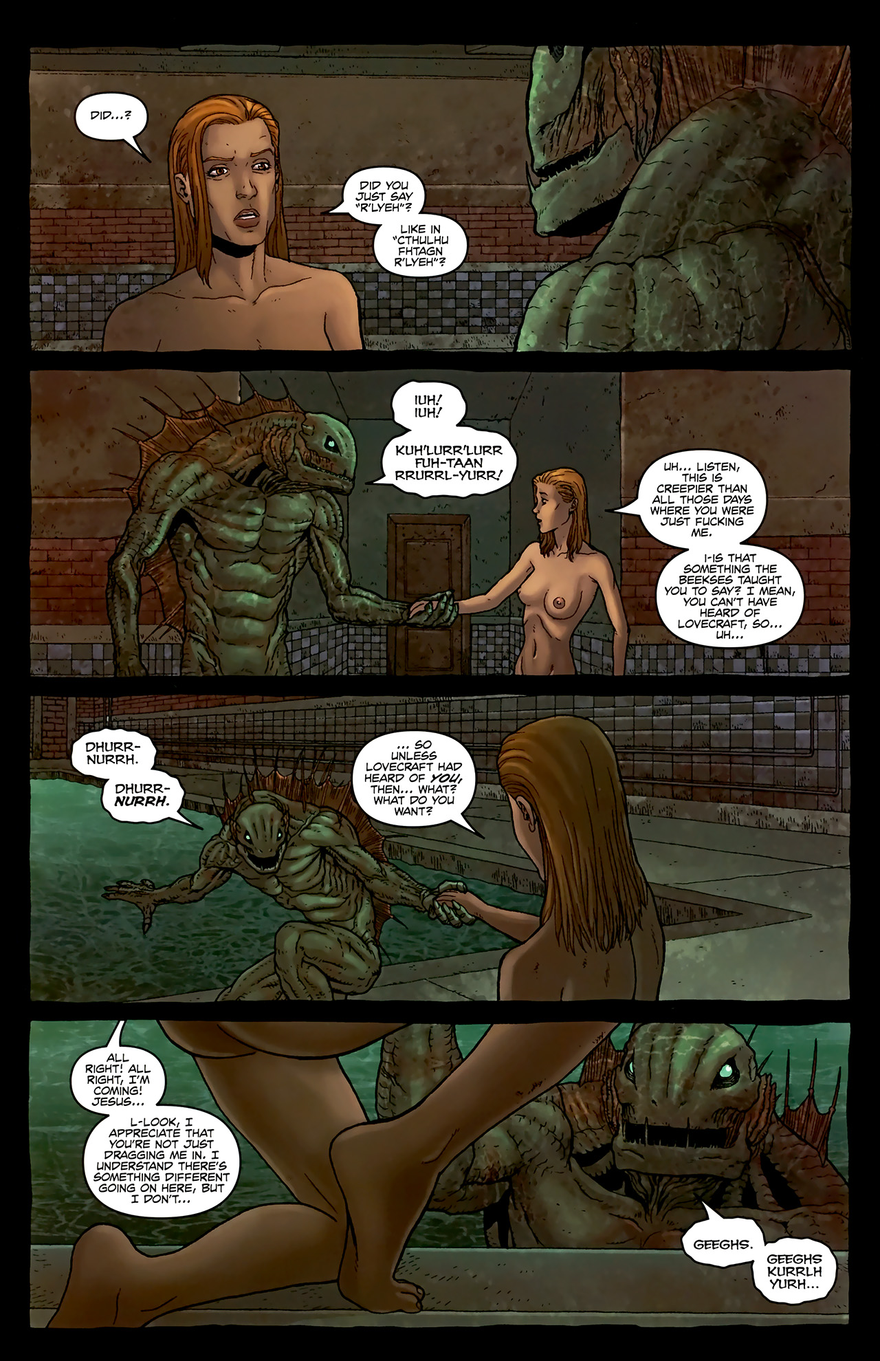 Read online Alan Moore's Neonomicon comic -  Issue #3 - 26