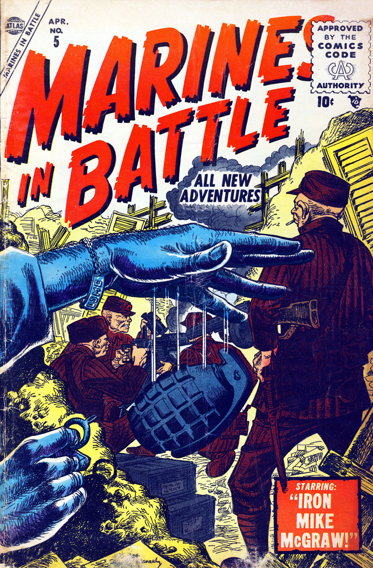 Marines in Battle 5 Page 1