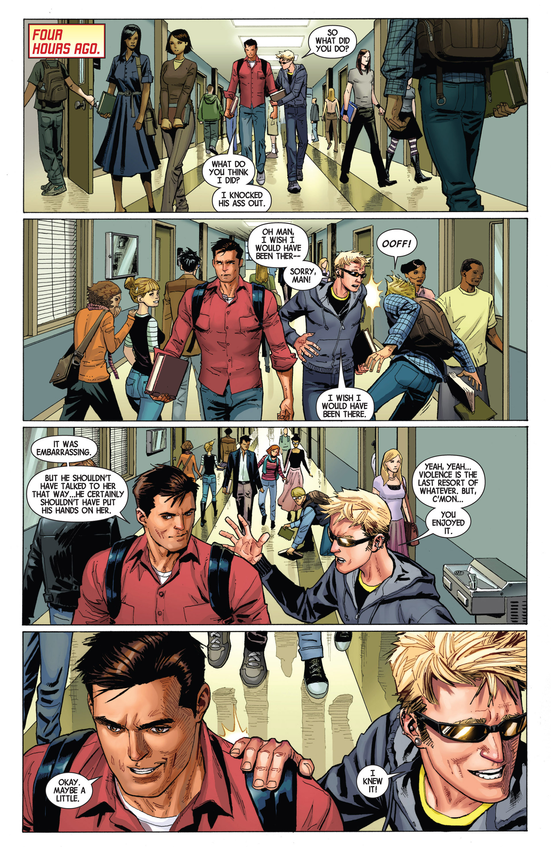 Read online Avengers (2013) comic -  Issue #7 - 16