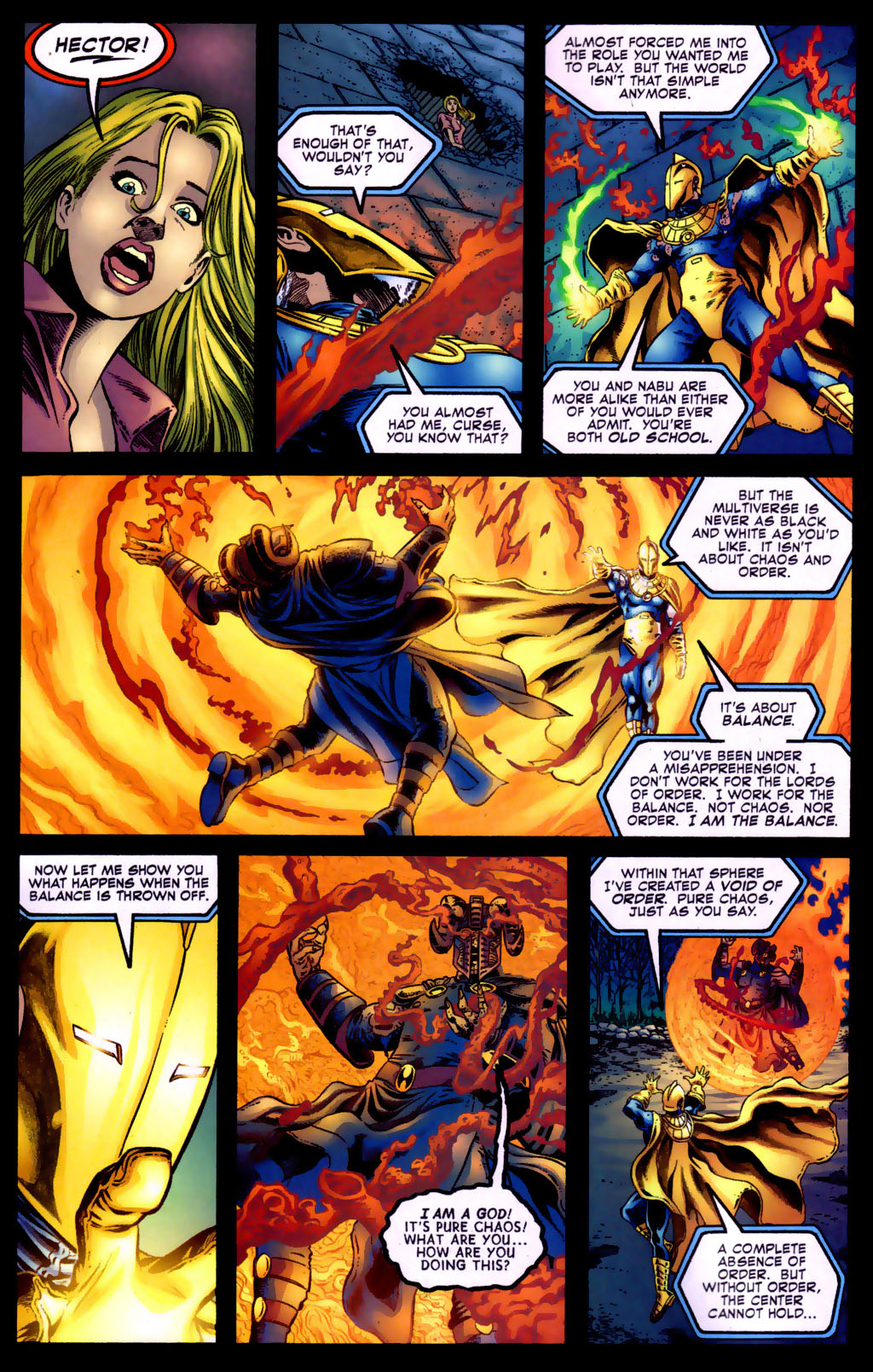 Read online Doctor Fate (2003) comic -  Issue #5 - 17
