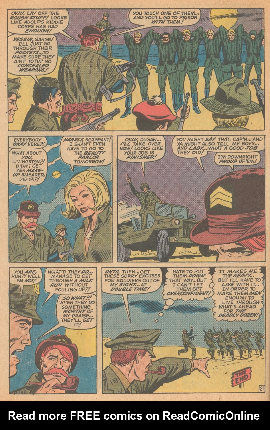 Read online Sgt. Fury comic -  Issue #98 - 30