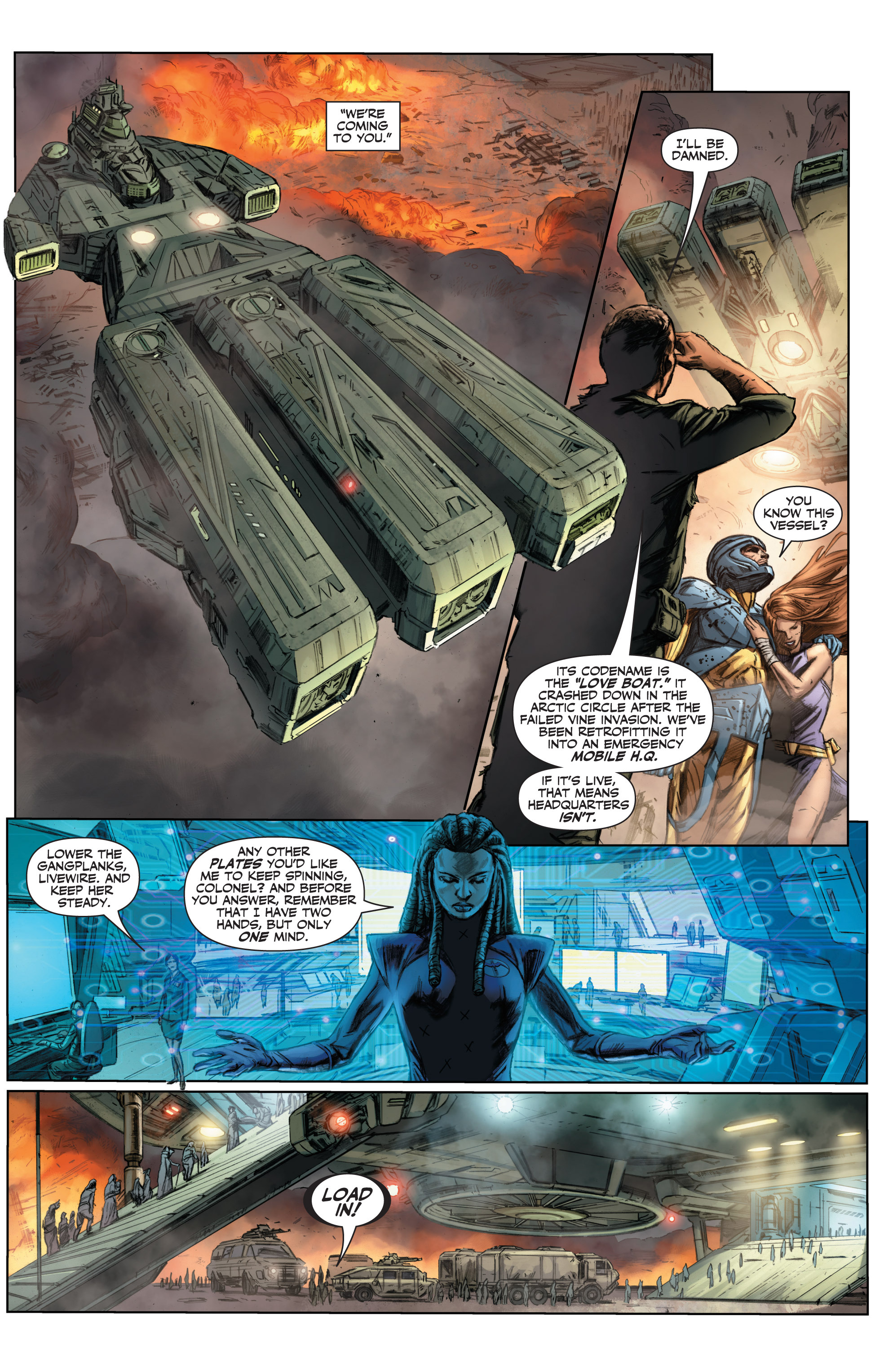 Read online Armor Hunters comic -  Issue #3 - 6
