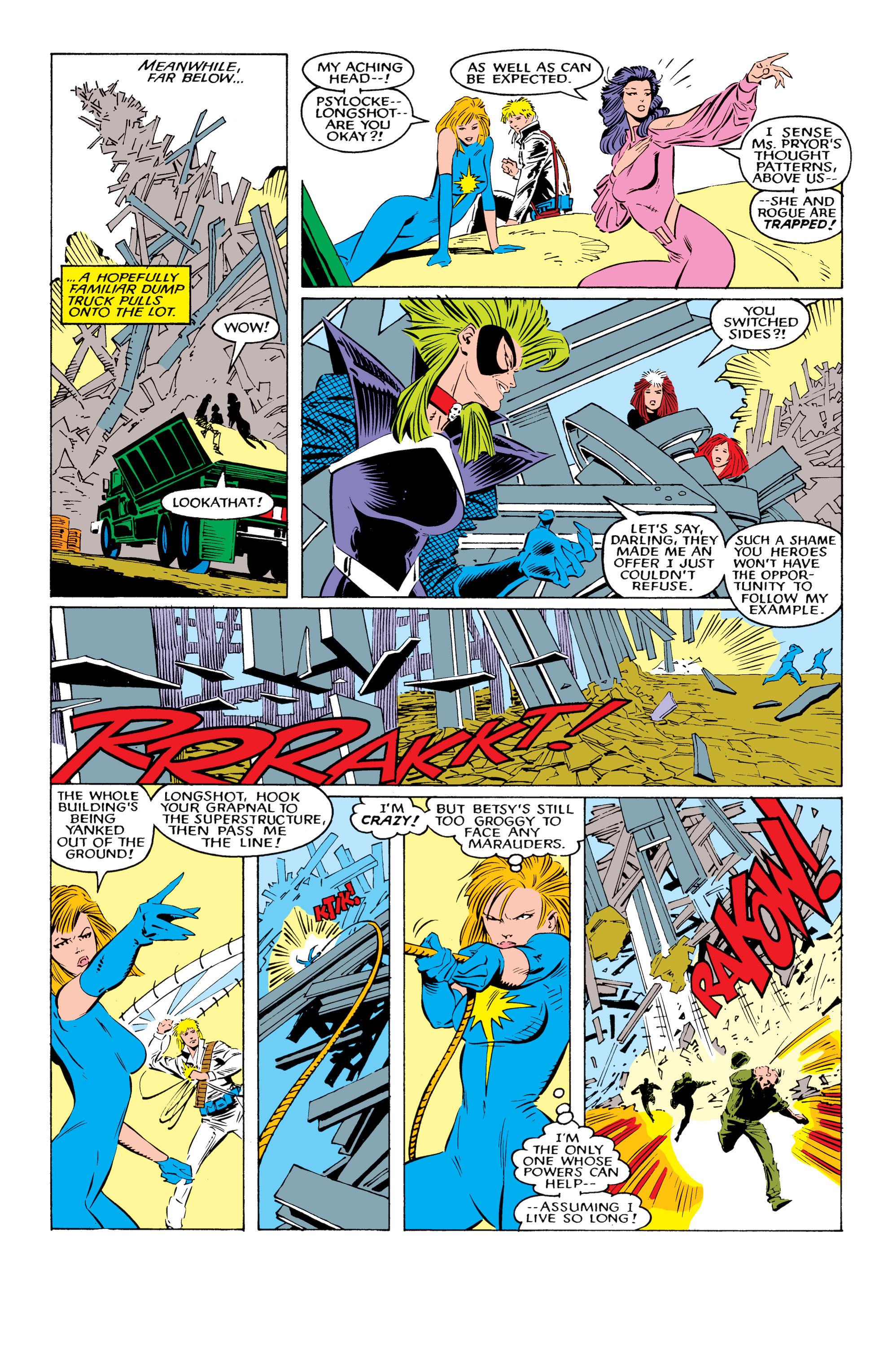 Read online Uncanny X-Men (1963) comic -  Issue #221 - 19