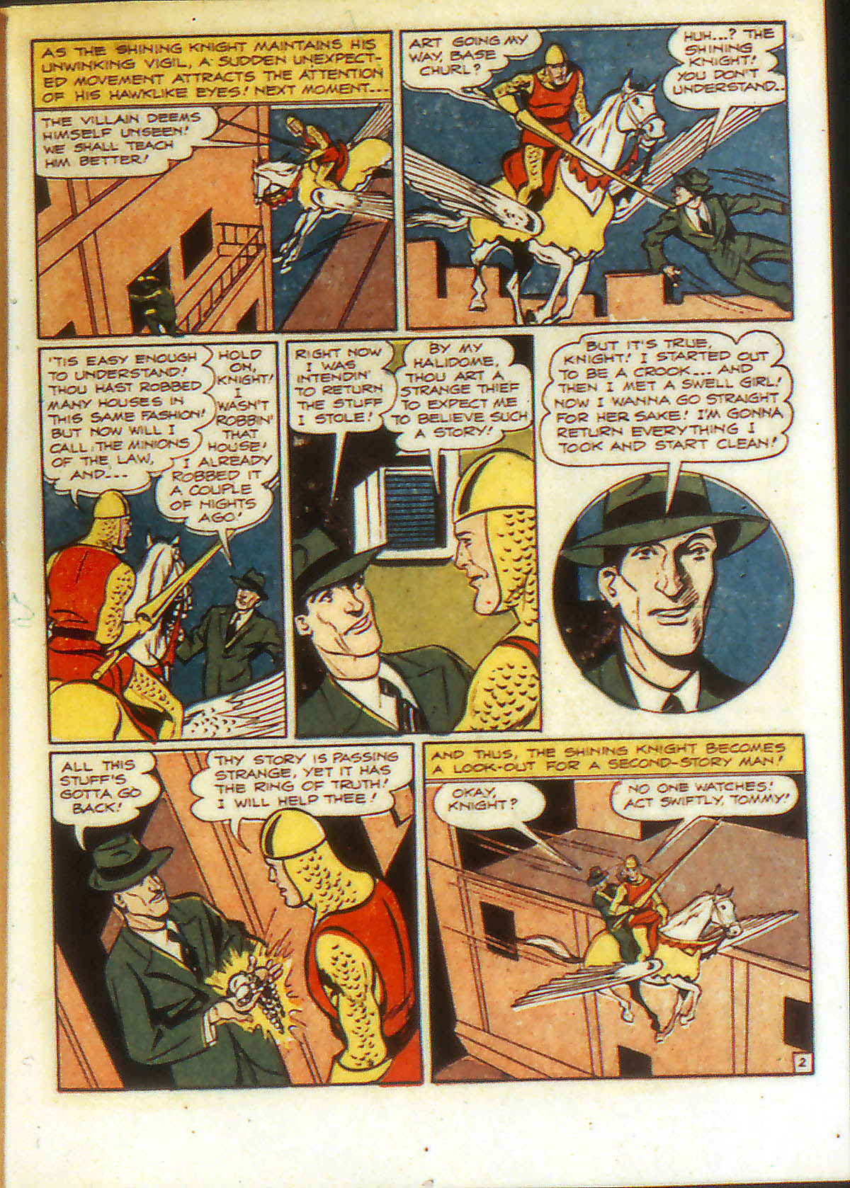 Read online Adventure Comics (1938) comic -  Issue #90 - 21