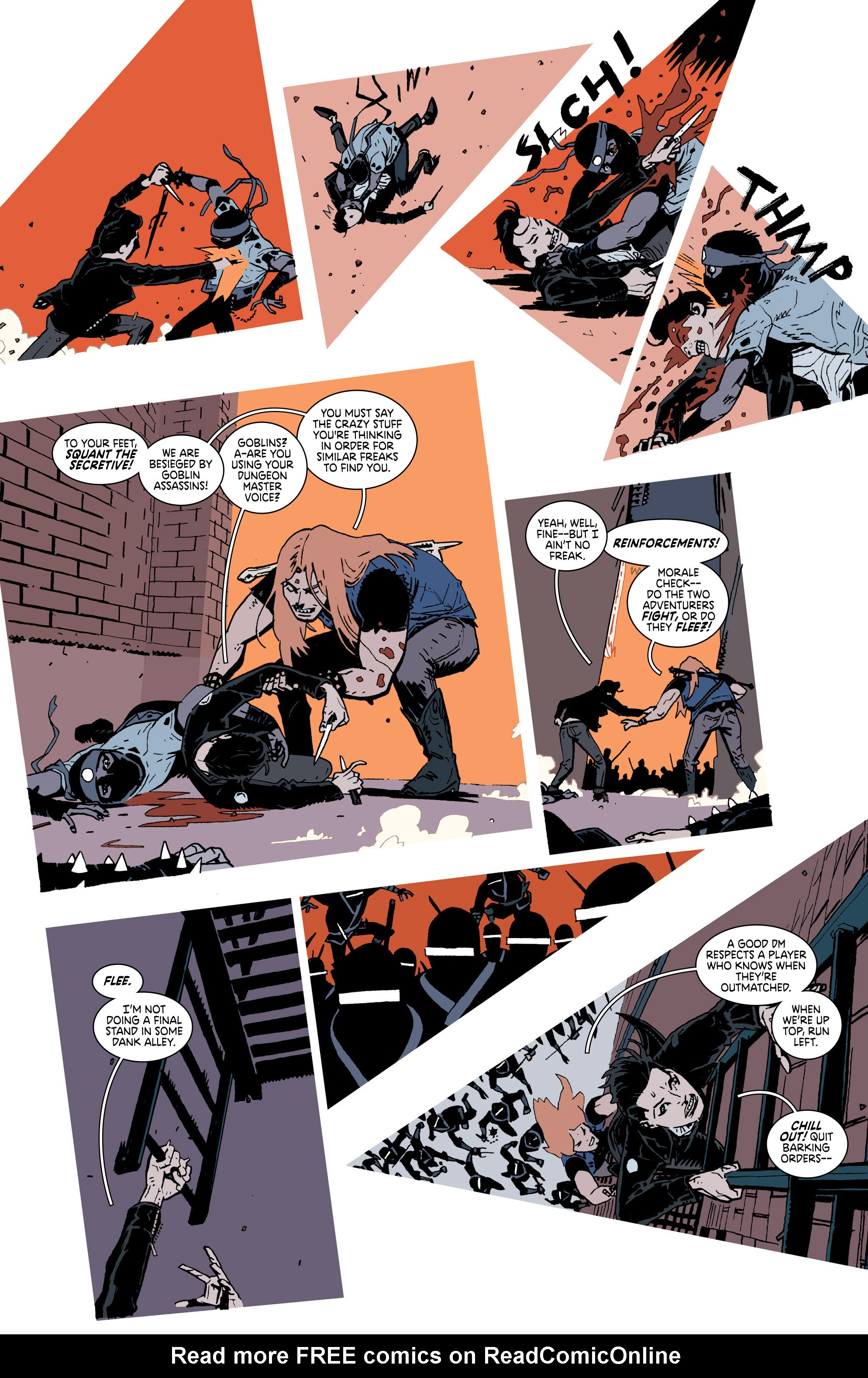Read online Deadly Class comic -  Issue #25 - 12