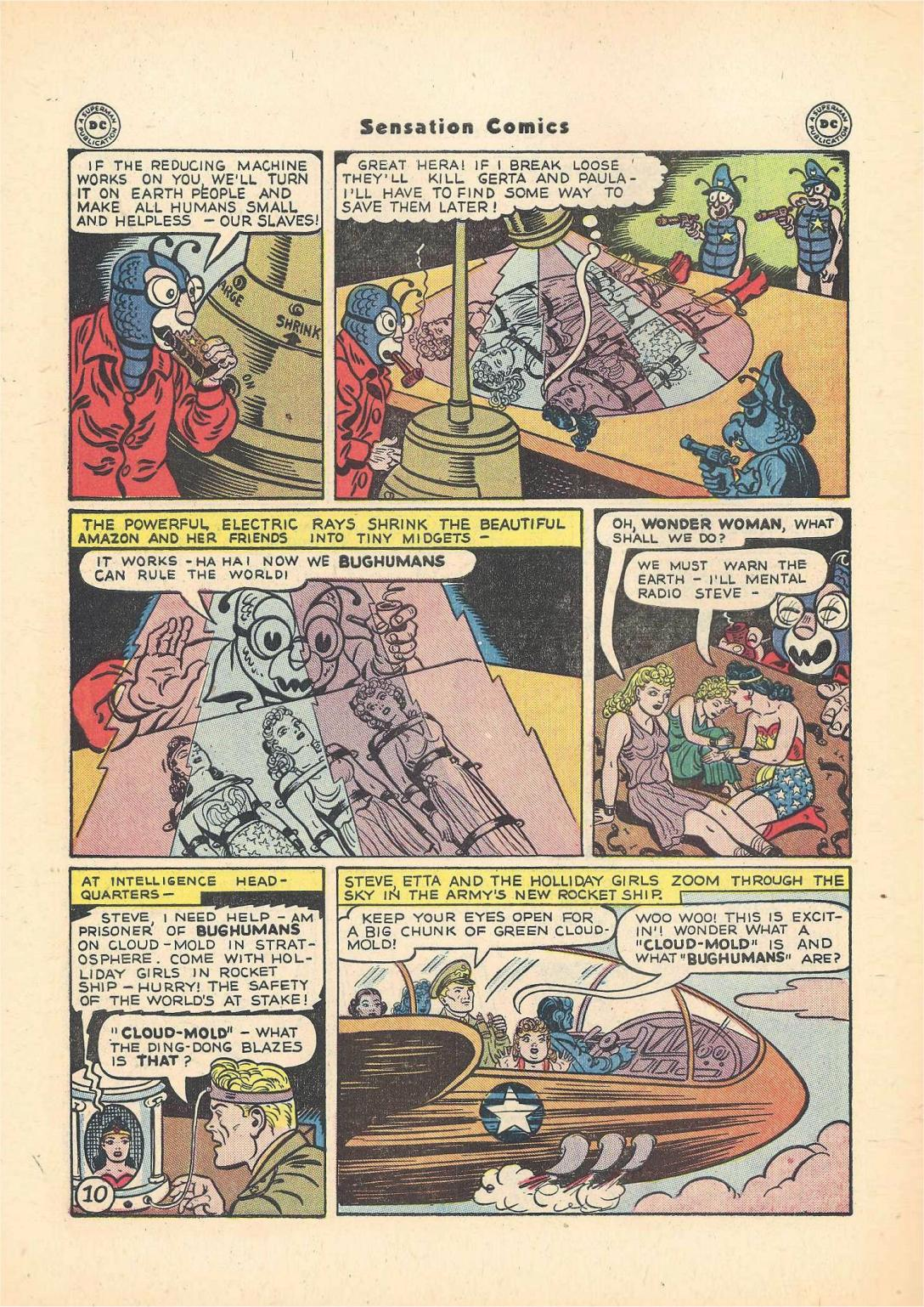Read online Sensation (Mystery) Comics comic -  Issue #55 - 12