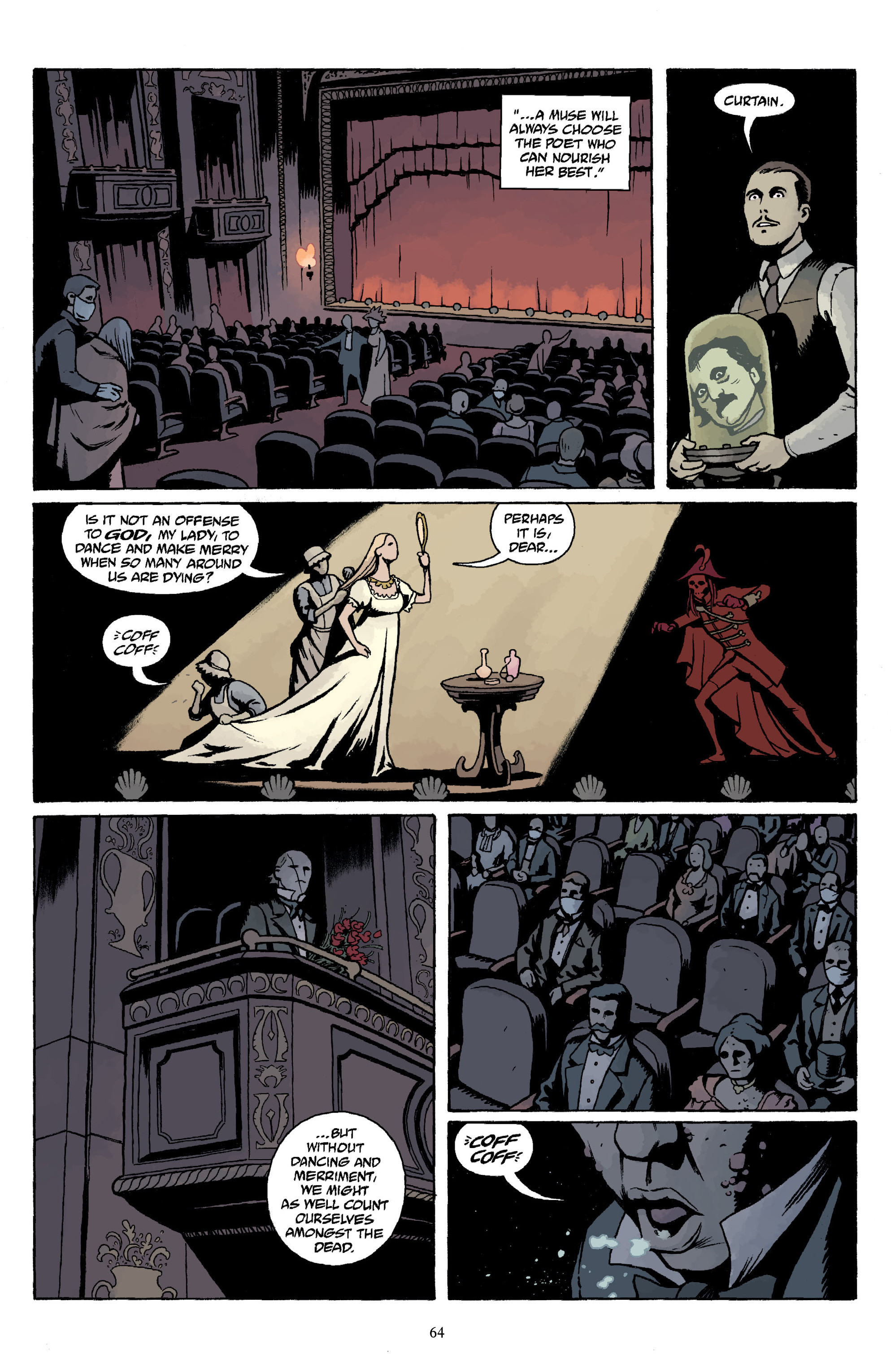 Read online Baltimore Volume 3: A Passing Stranger and Other Stories comic -  Issue # Full - 66