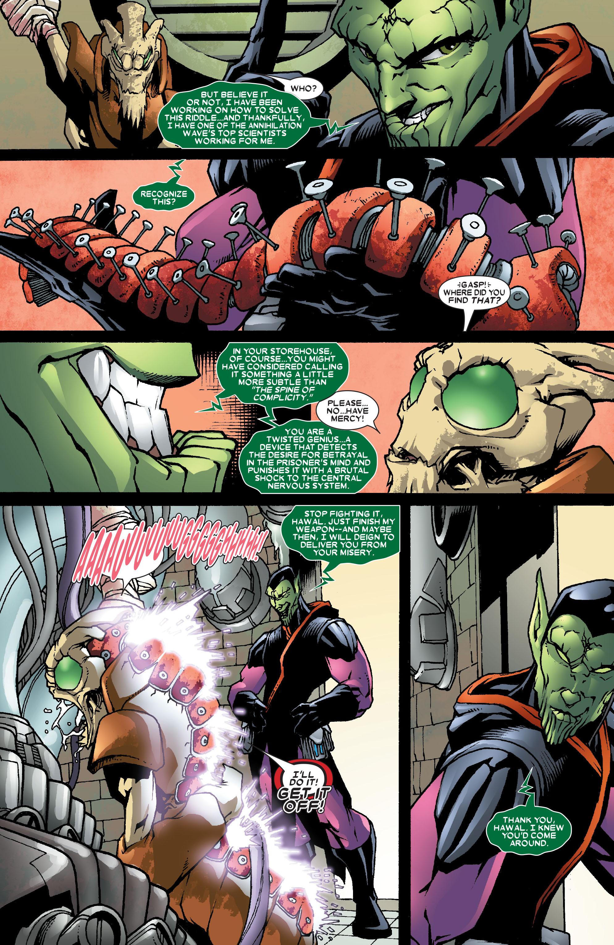 Read online Annihilation: Super-Skrull comic -  Issue #3 - 11