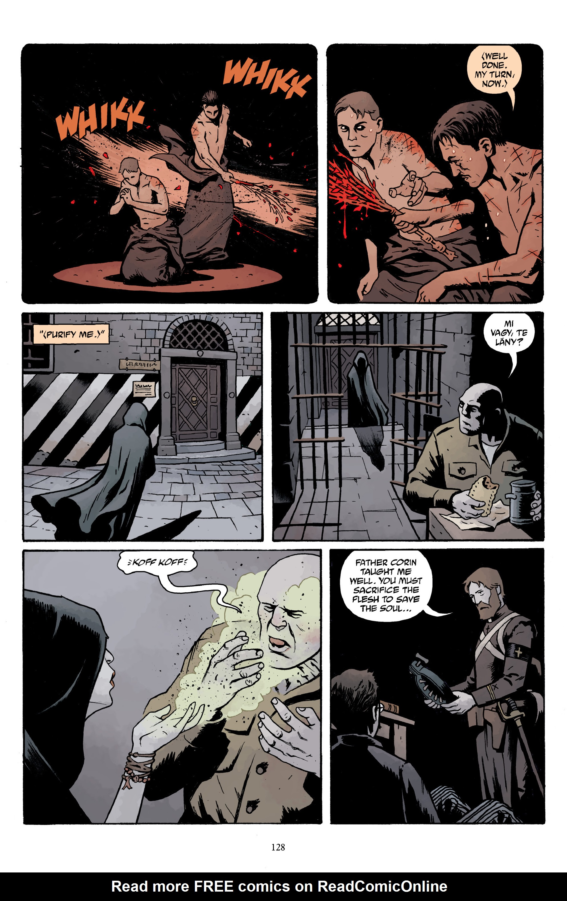 Read online Baltimore Volume 3: A Passing Stranger and Other Stories comic -  Issue # Full - 130