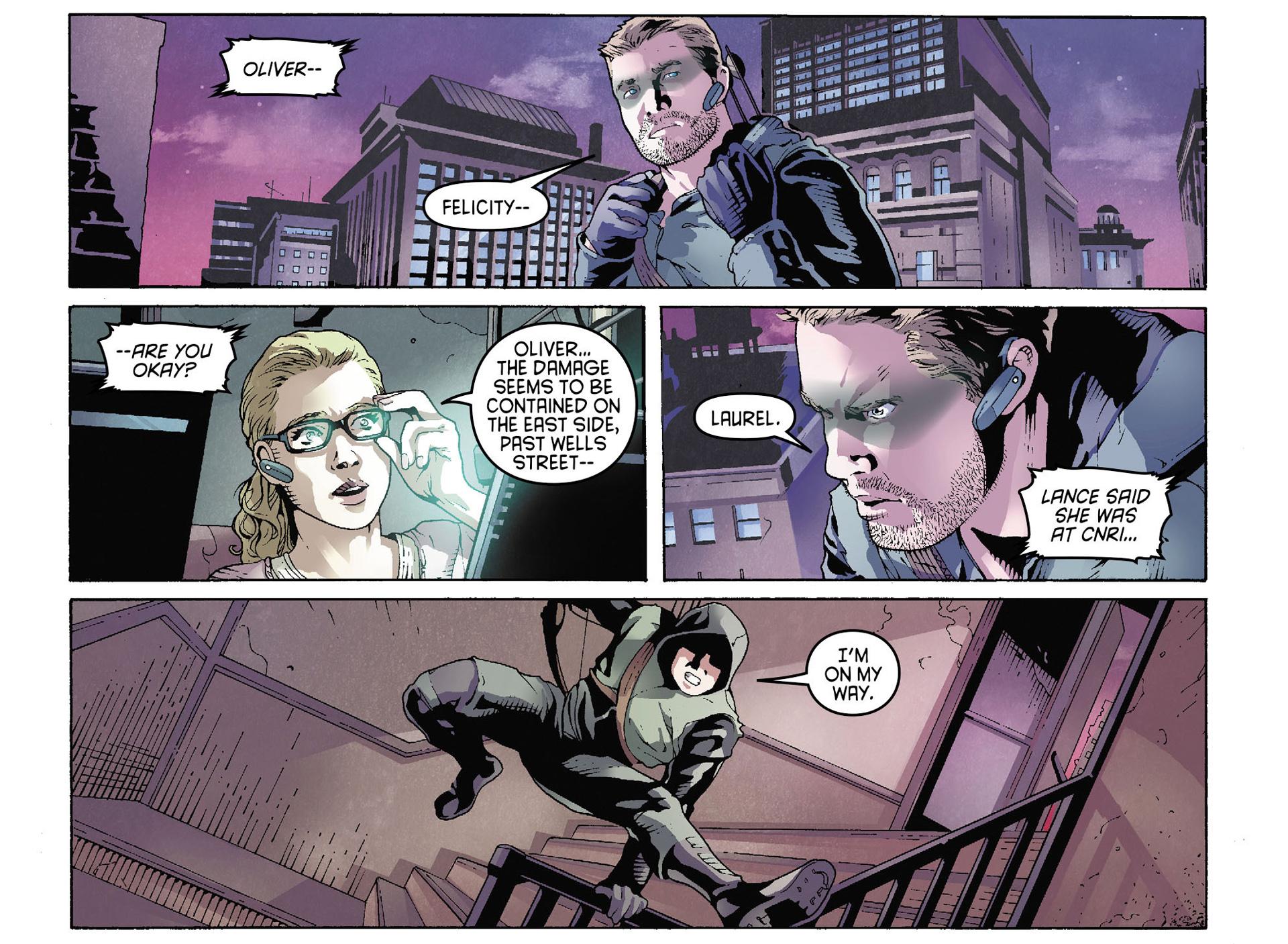 Read online Arrow [II] comic -  Issue #35 - 5