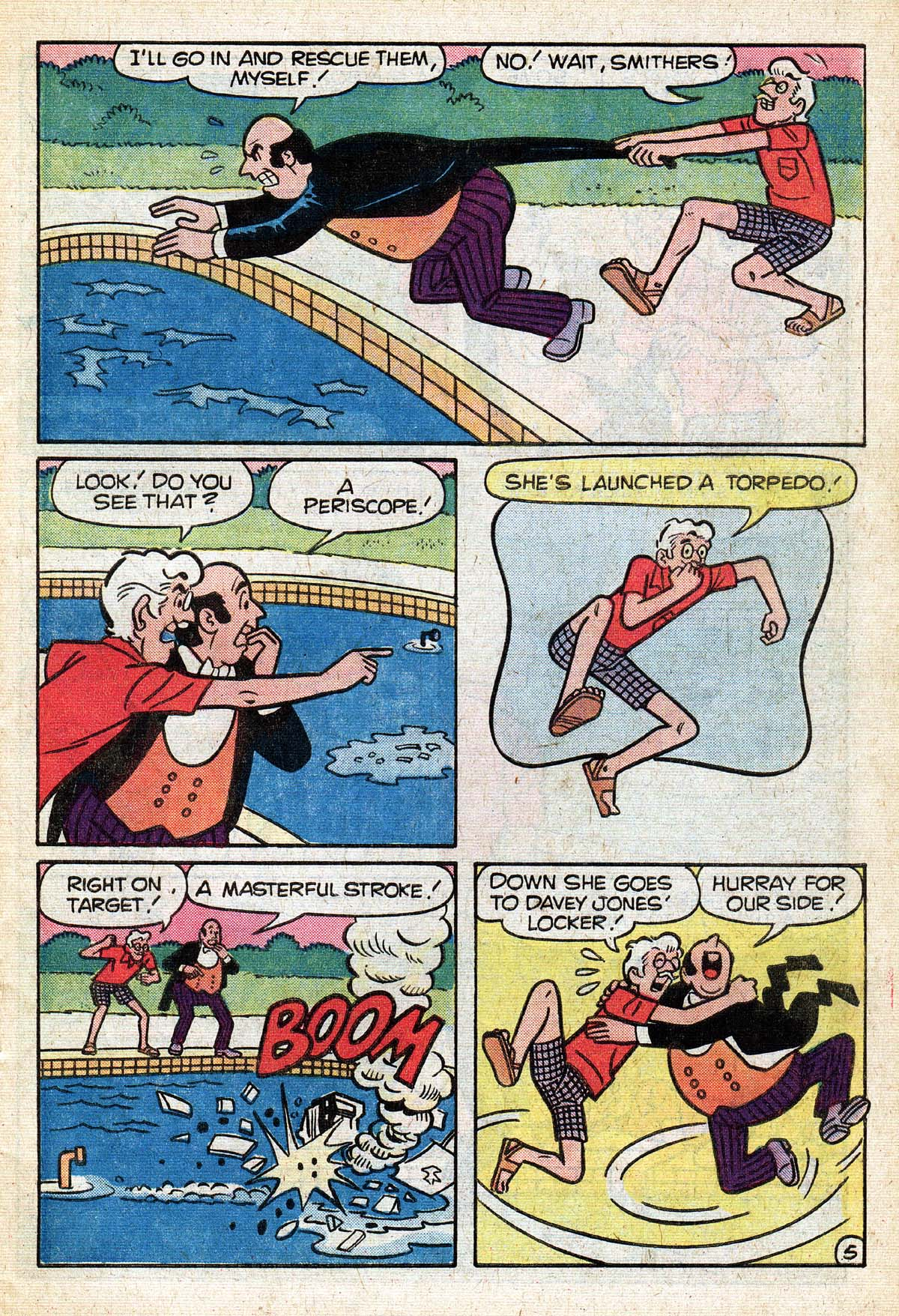 Read online Archie (1960) comic -  Issue #267 - 7