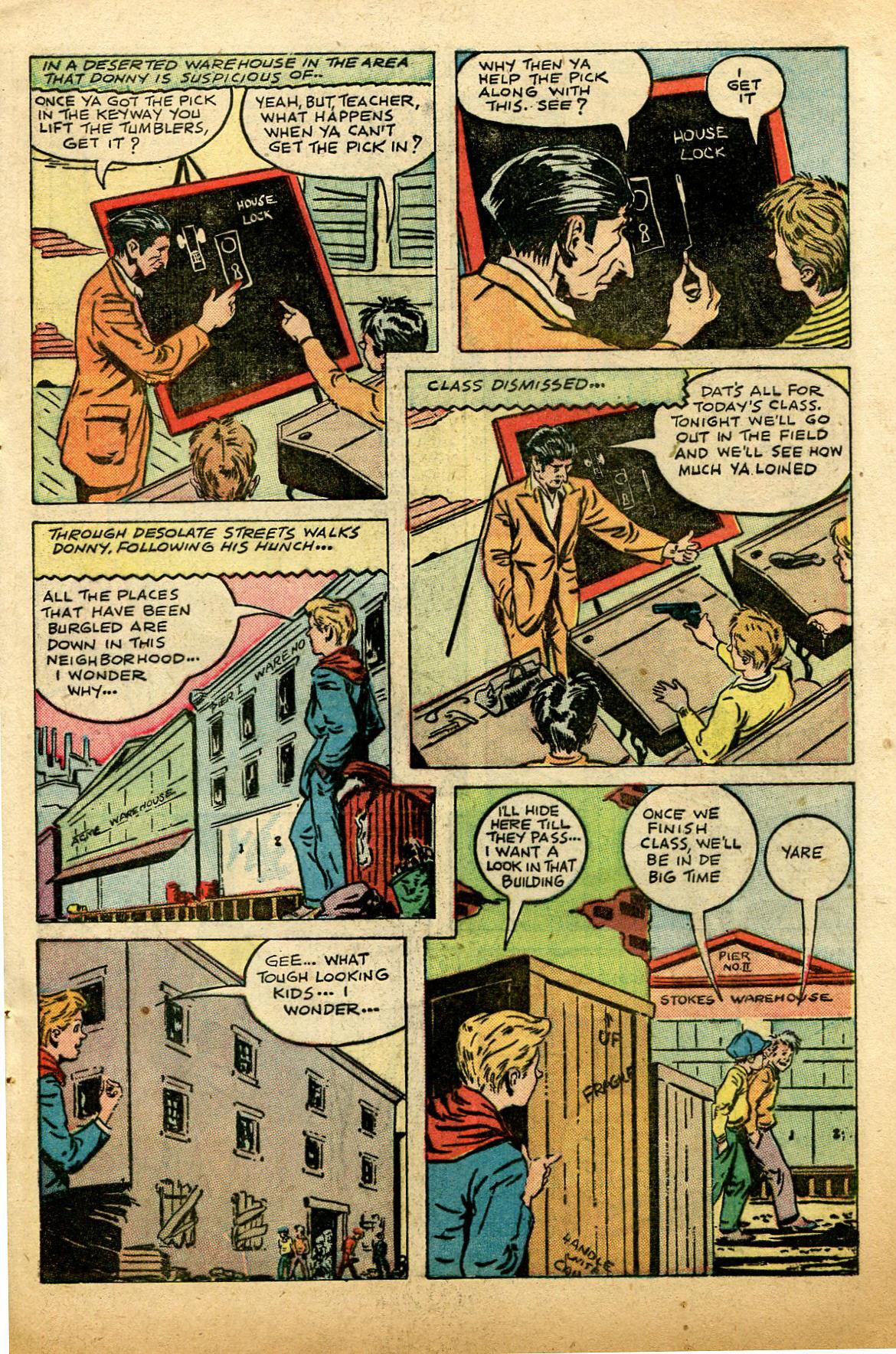 Read online Shadow Comics comic -  Issue #74 - 45