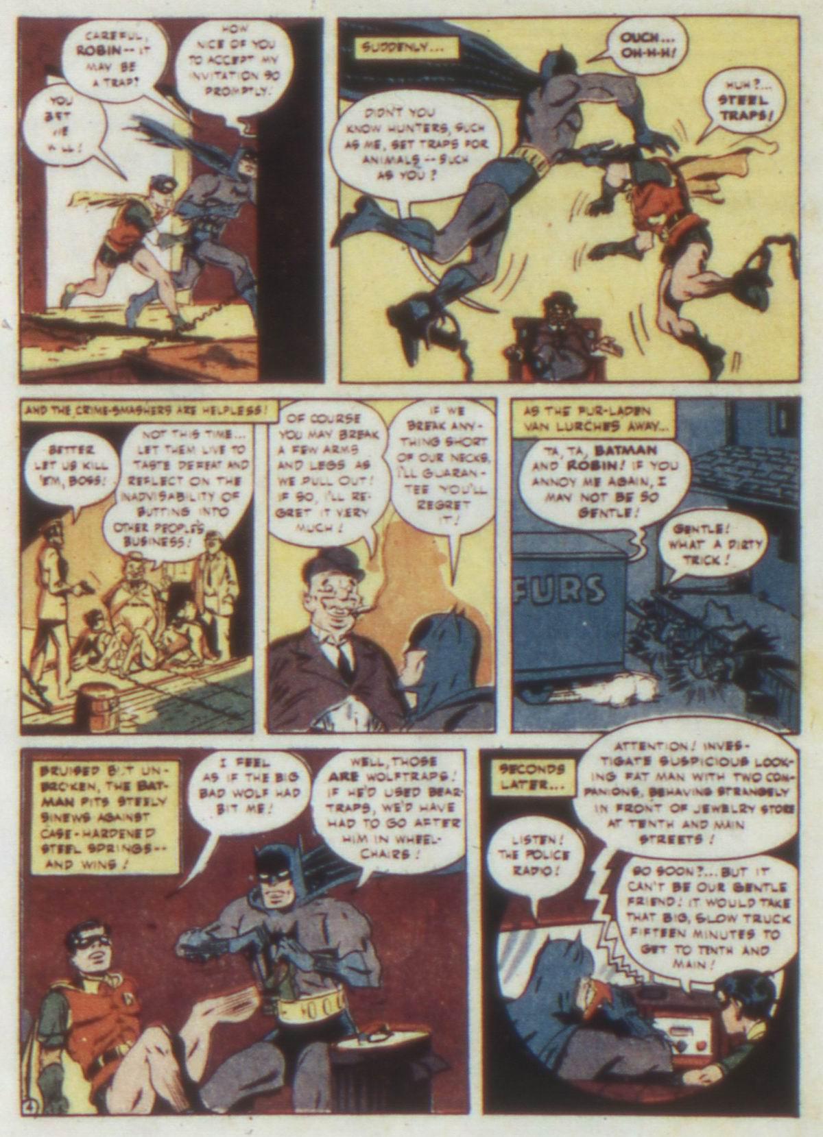 Read online Detective Comics (1937) comic -  Issue #74 - 6