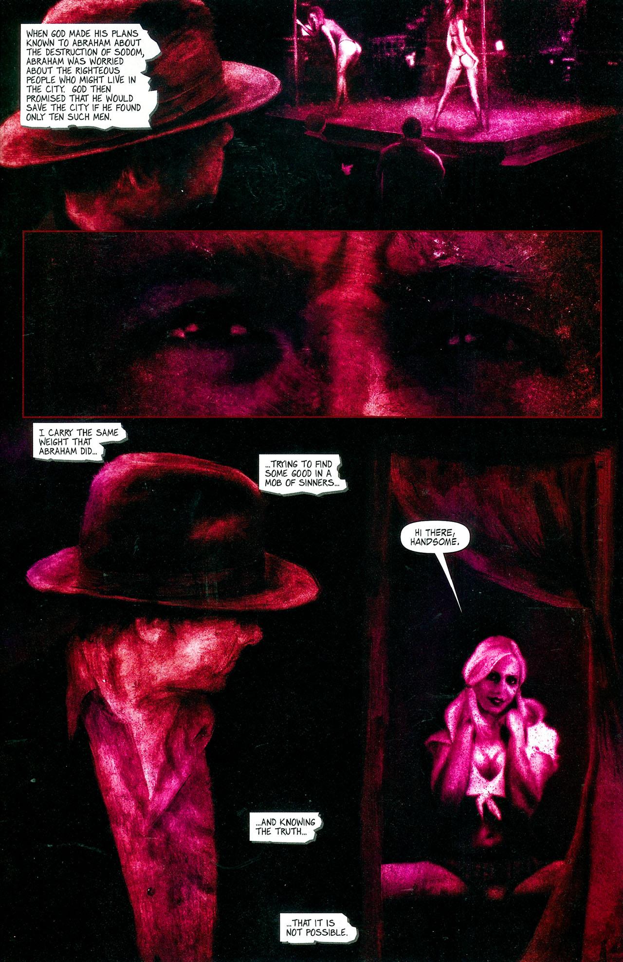 Read online Se7en comic -  Issue #4 - 5