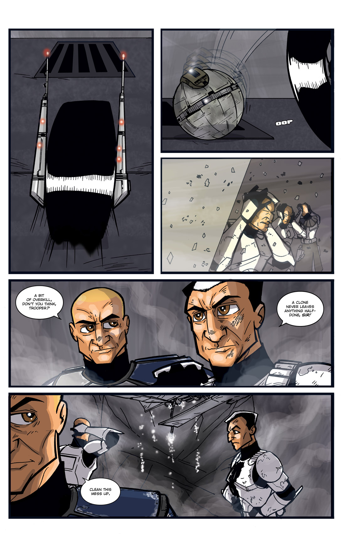 Read online Star Wars: Tales From The Clone Wars comic -  Issue # TPB - 37