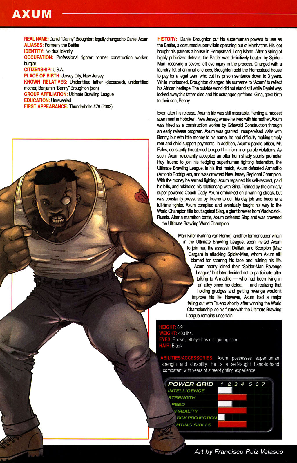 Read online All-New Official Handbook of the Marvel Universe A to Z comic -  Issue #1 - 48