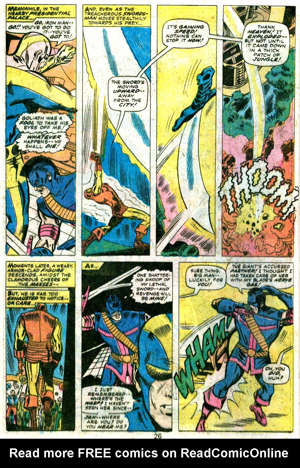 Giant-Size Avengers (1974) issue 5 - Page 21