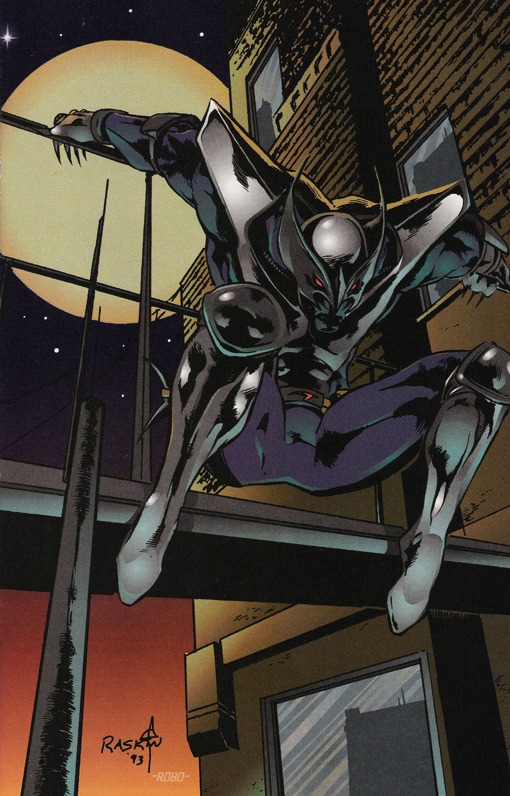 Read online ShadowHawk Gallery comic -  Issue # Full - 17