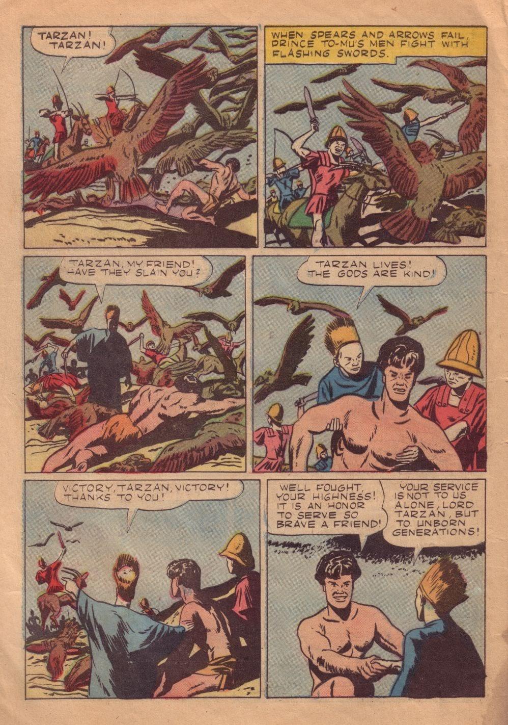 Tarzan (1948) issue 8 - Page 30