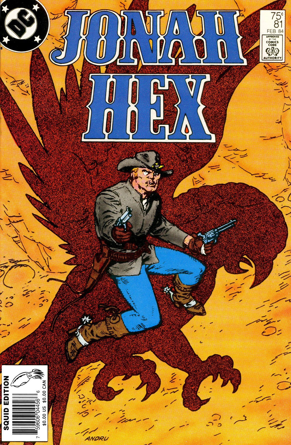 Jonah Hex (1977) 81 Page 1