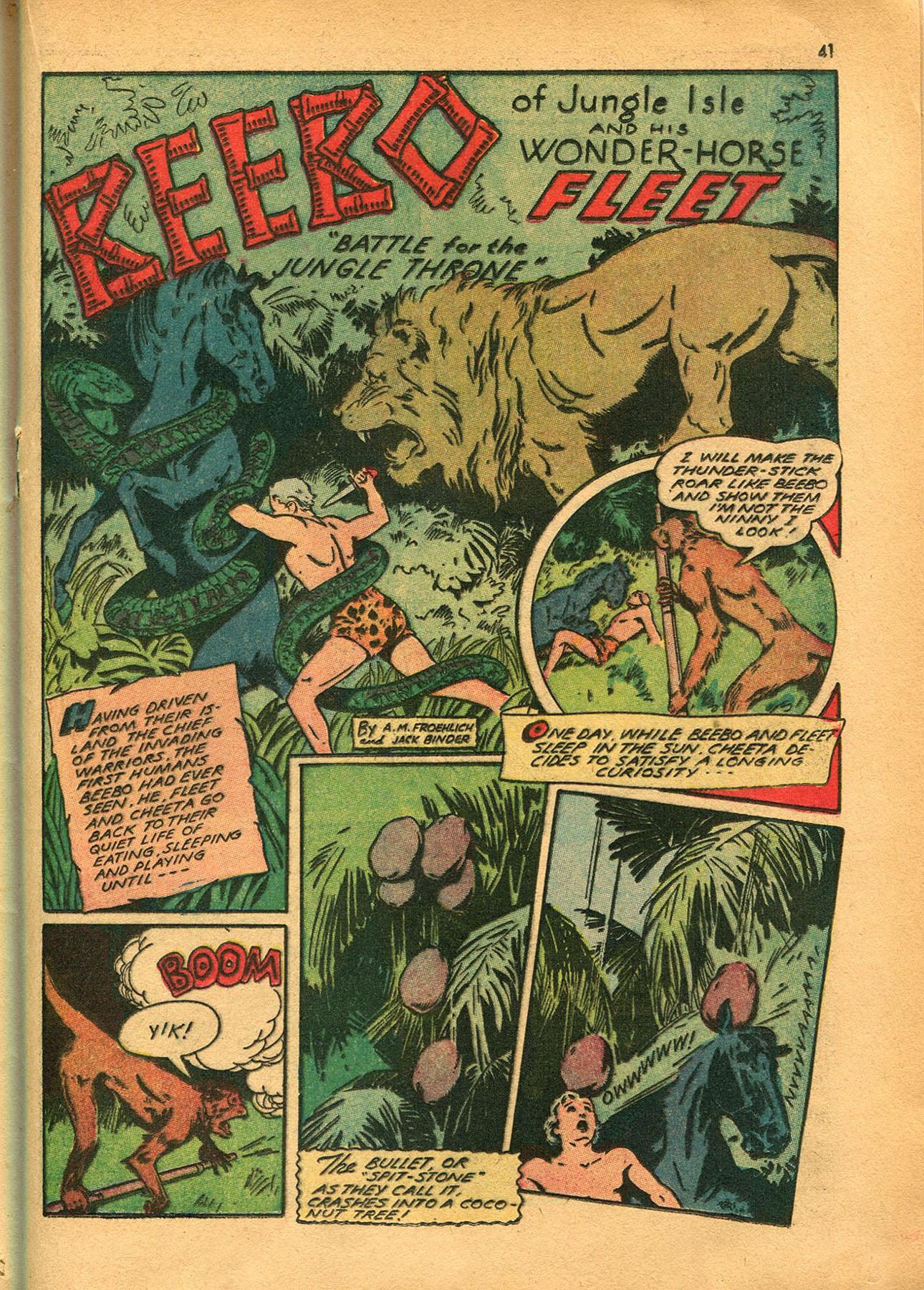Read online Shadow Comics comic -  Issue #23 - 41