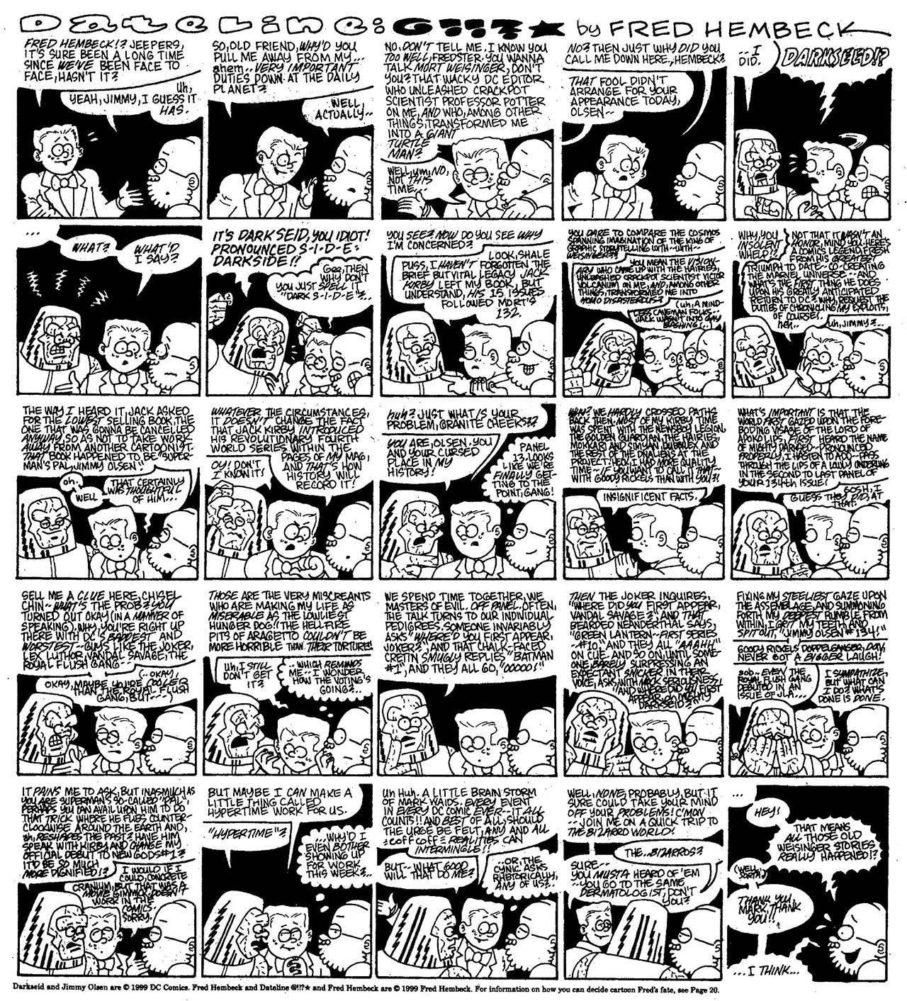 Read online The Nearly Complete Essential Hembeck Archives Omnibus comic -  Issue # TPB (Part 7) - 82