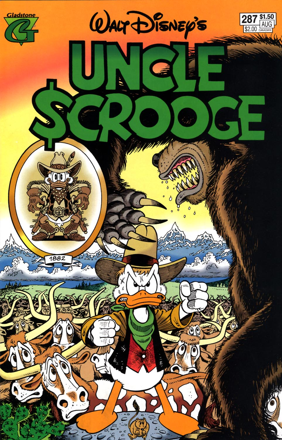 Read online Uncle Scrooge (1953) comic -  Issue #287 - 1