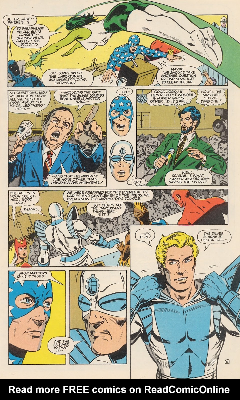 Infinity Inc. (1984) issue 12 - Page 24