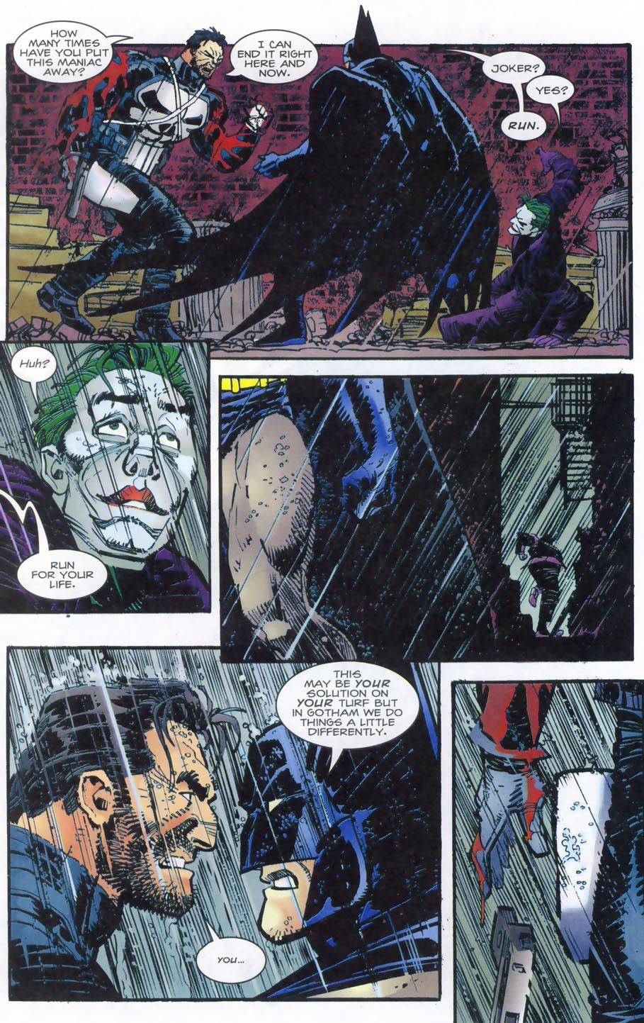 Read online Punisher/Batman: Deadly Knights comic -  Issue # Full - 43