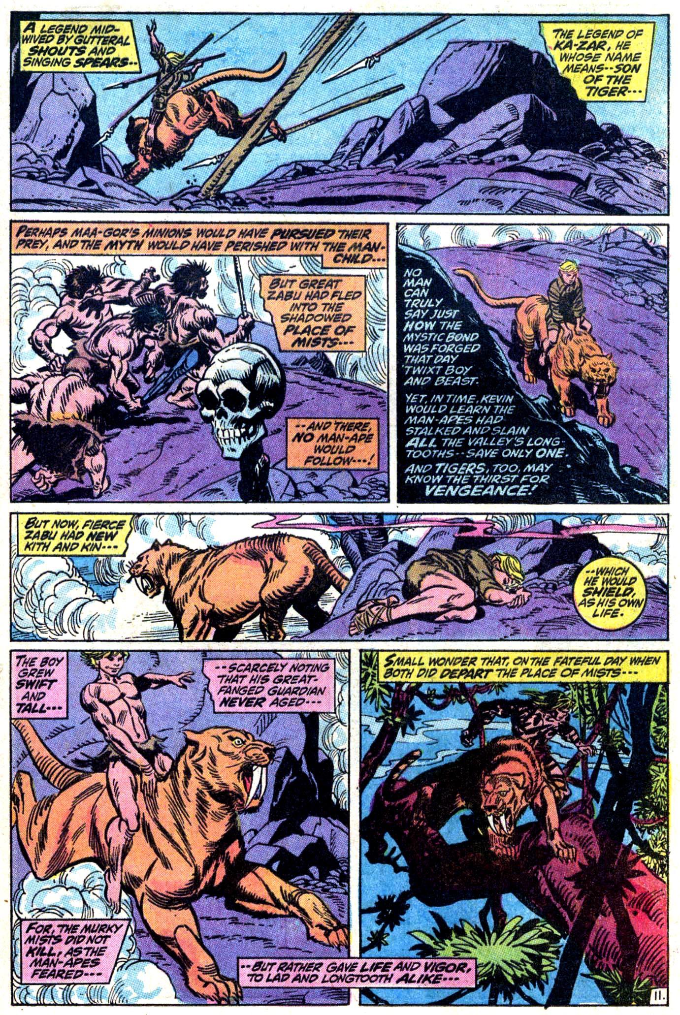 Read online Astonishing Tales (1970) comic -  Issue #11 - 12