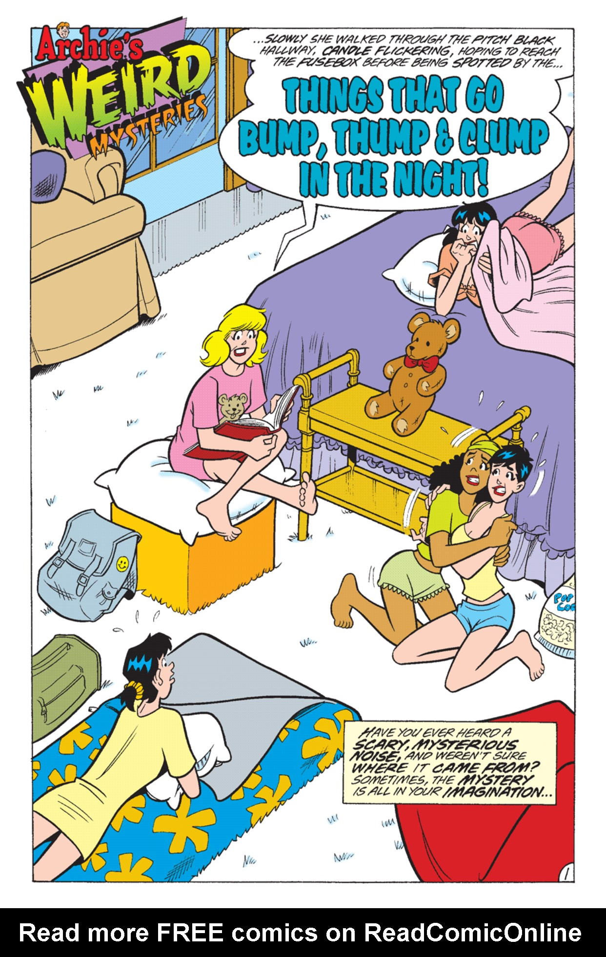 Read online Archie's Weird Mysteries comic -  Issue #23 - 20