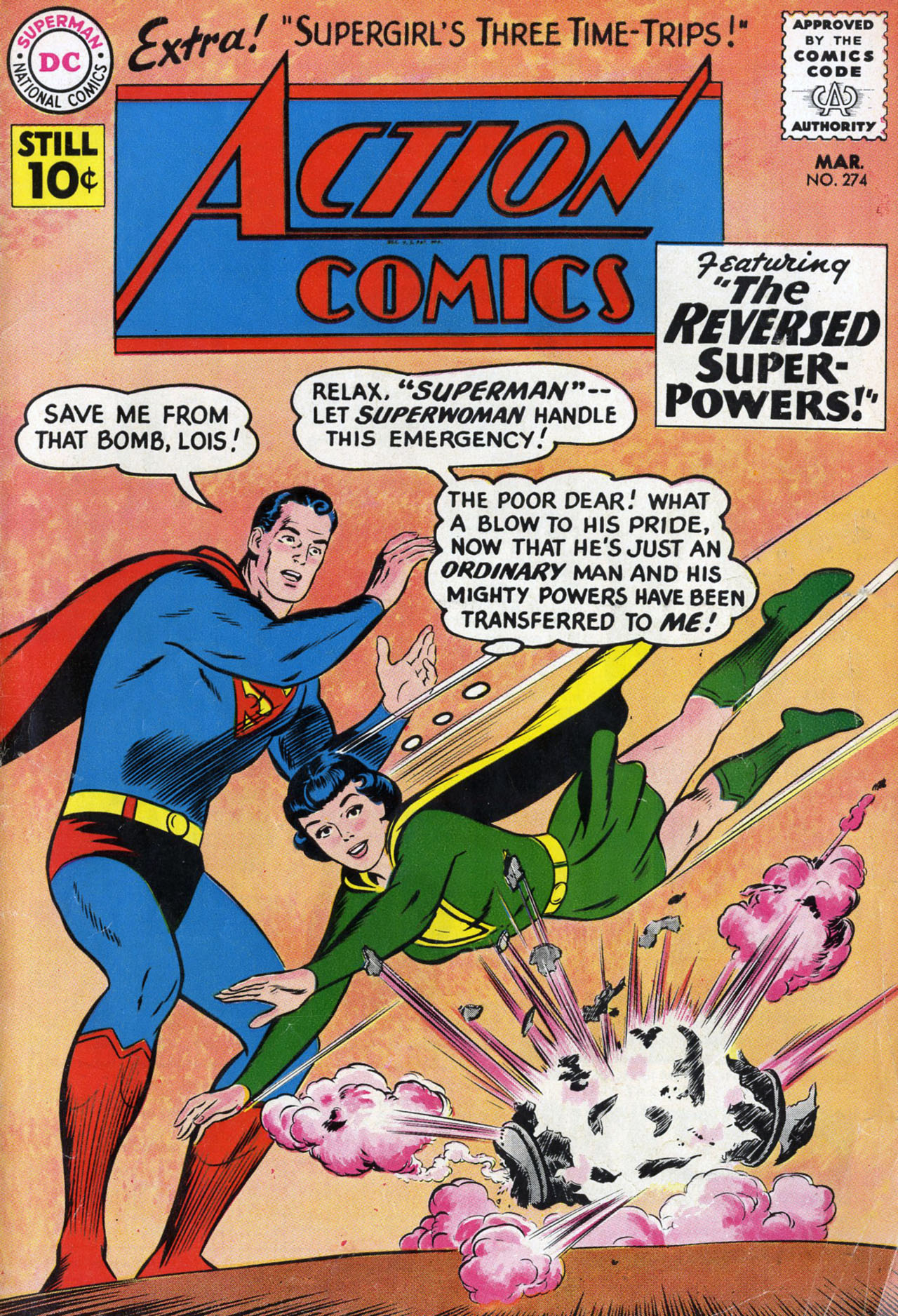 Read online Action Comics (1938) comic -  Issue #274 - 1