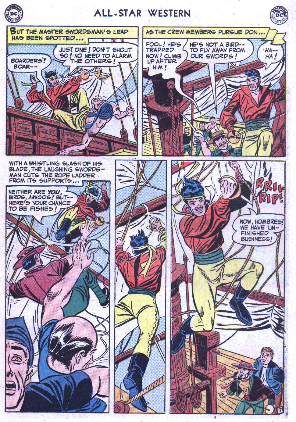 Read online All-Star Western (1951) comic -  Issue #59 - 21