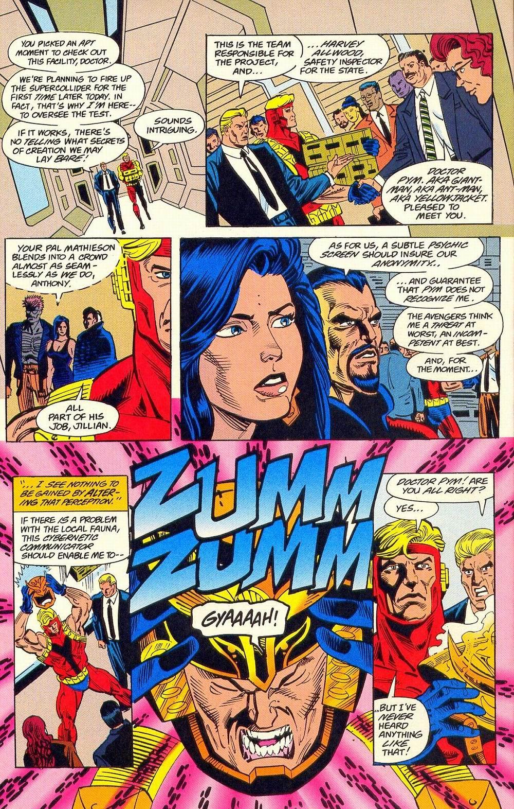 Read online Secret Defenders comic -  Issue #18 - 9