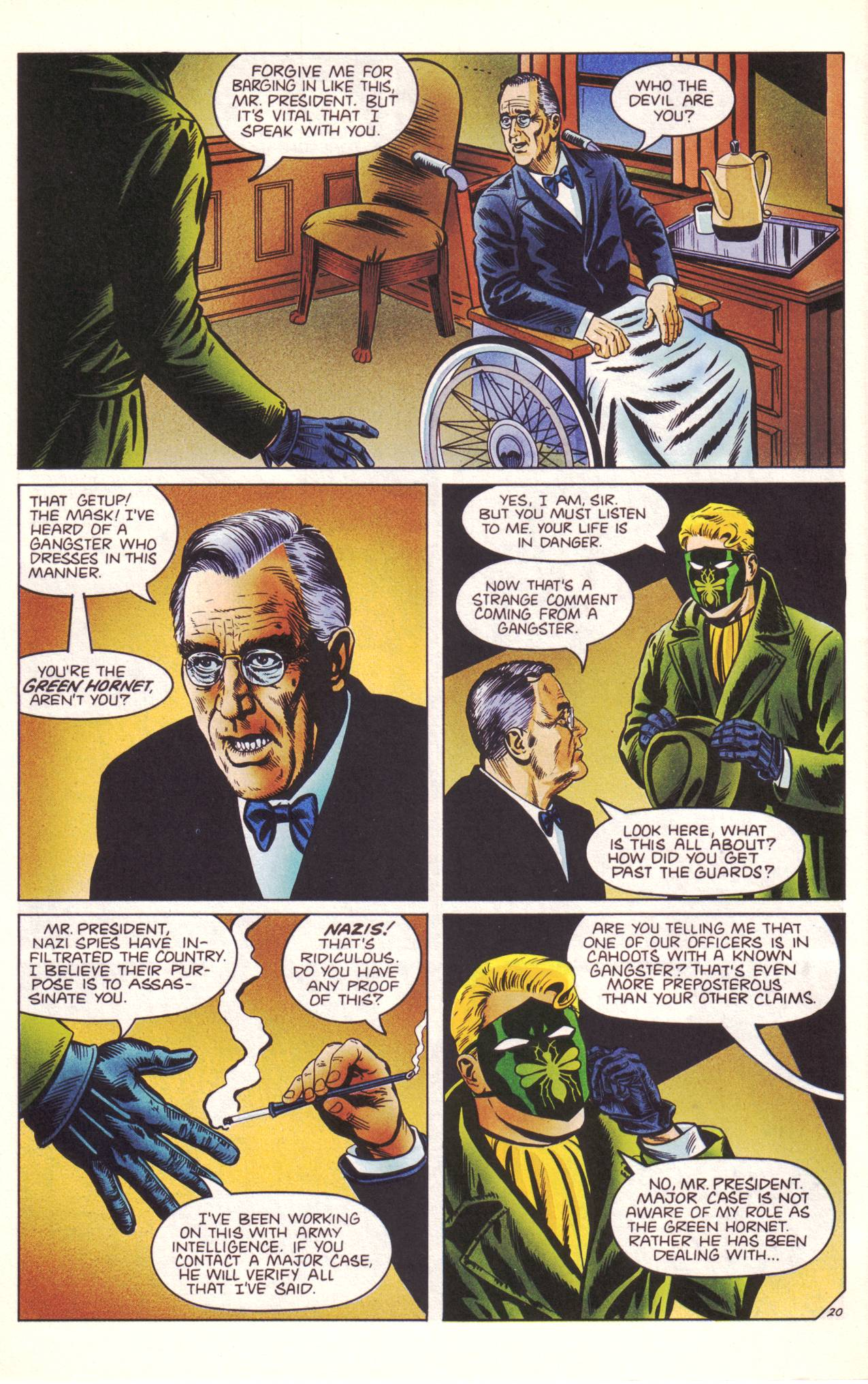 Read online Sting of The Green Hornet comic -  Issue #3 - 21