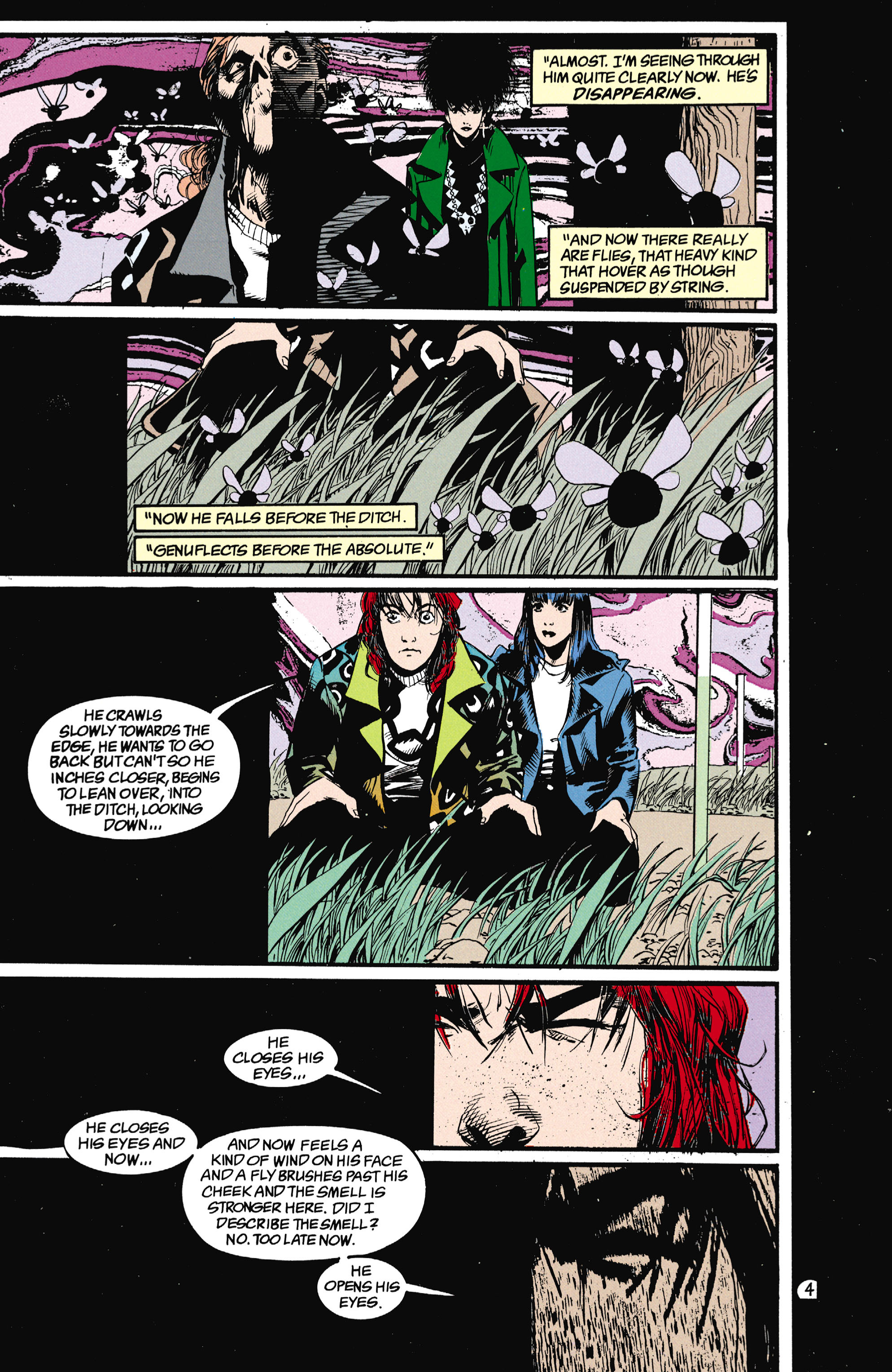 Read online Shade, the Changing Man comic -  Issue #25 - 5