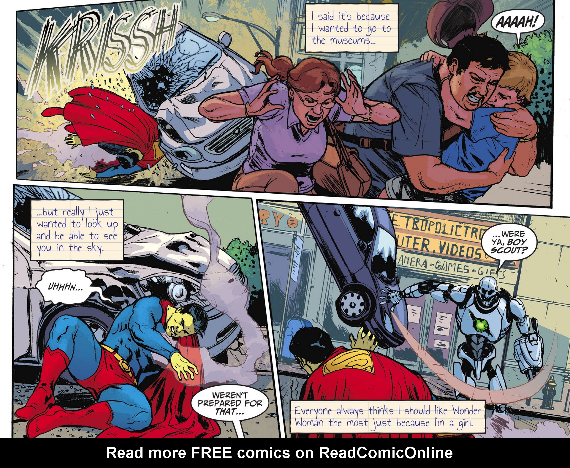 Read online Adventures of Superman [I] comic -  Issue #28 - 8