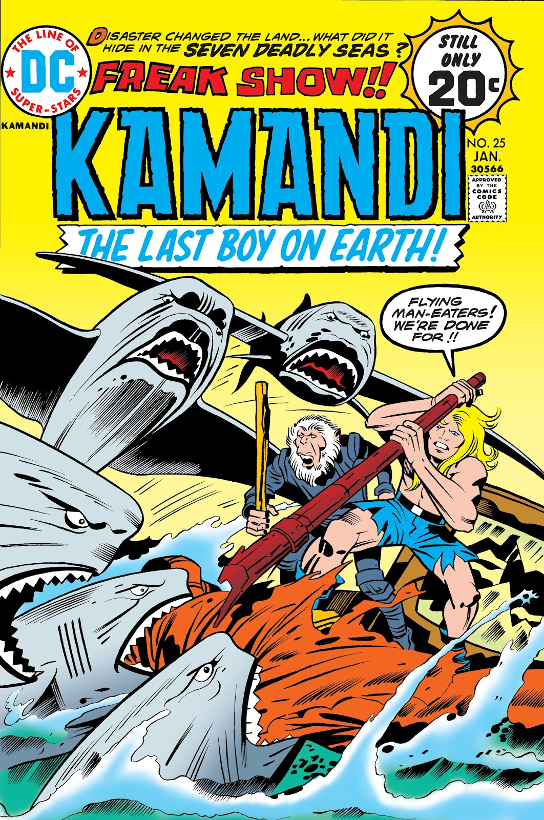 Kamandi, The Last Boy On Earth issue 25 - Page 1