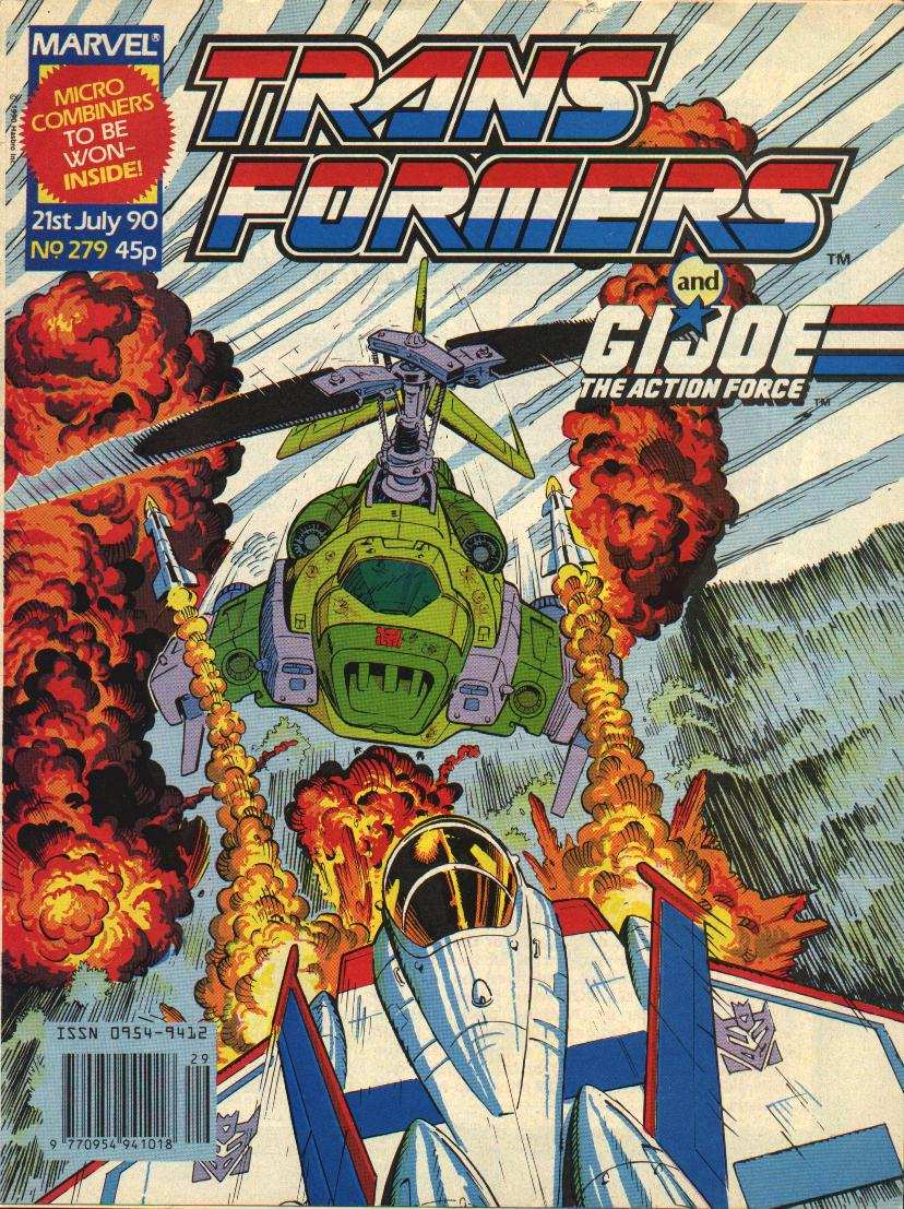 The Transformers (UK) 279 Page 1