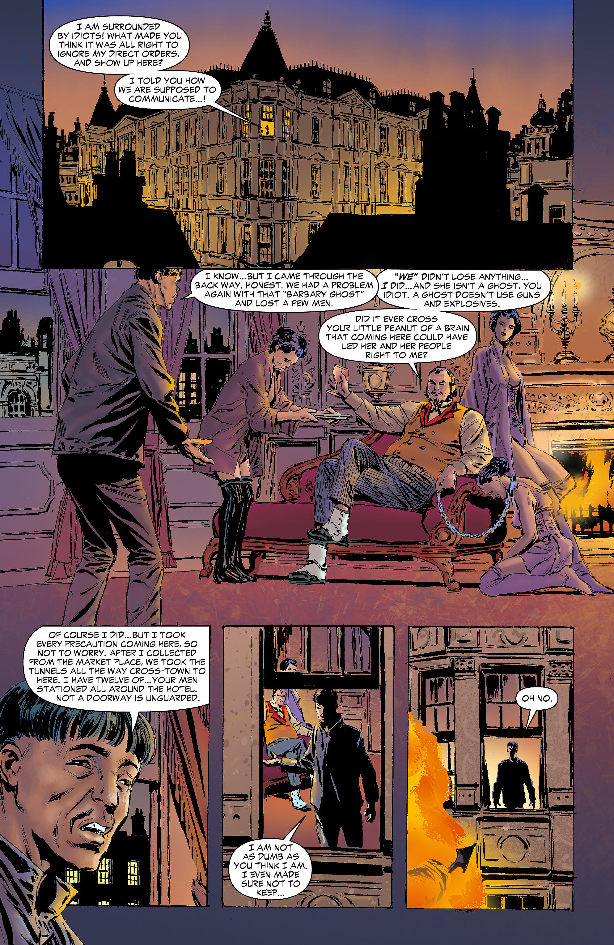 Read online All-Star Western (2011) comic -  Issue #6 - 22