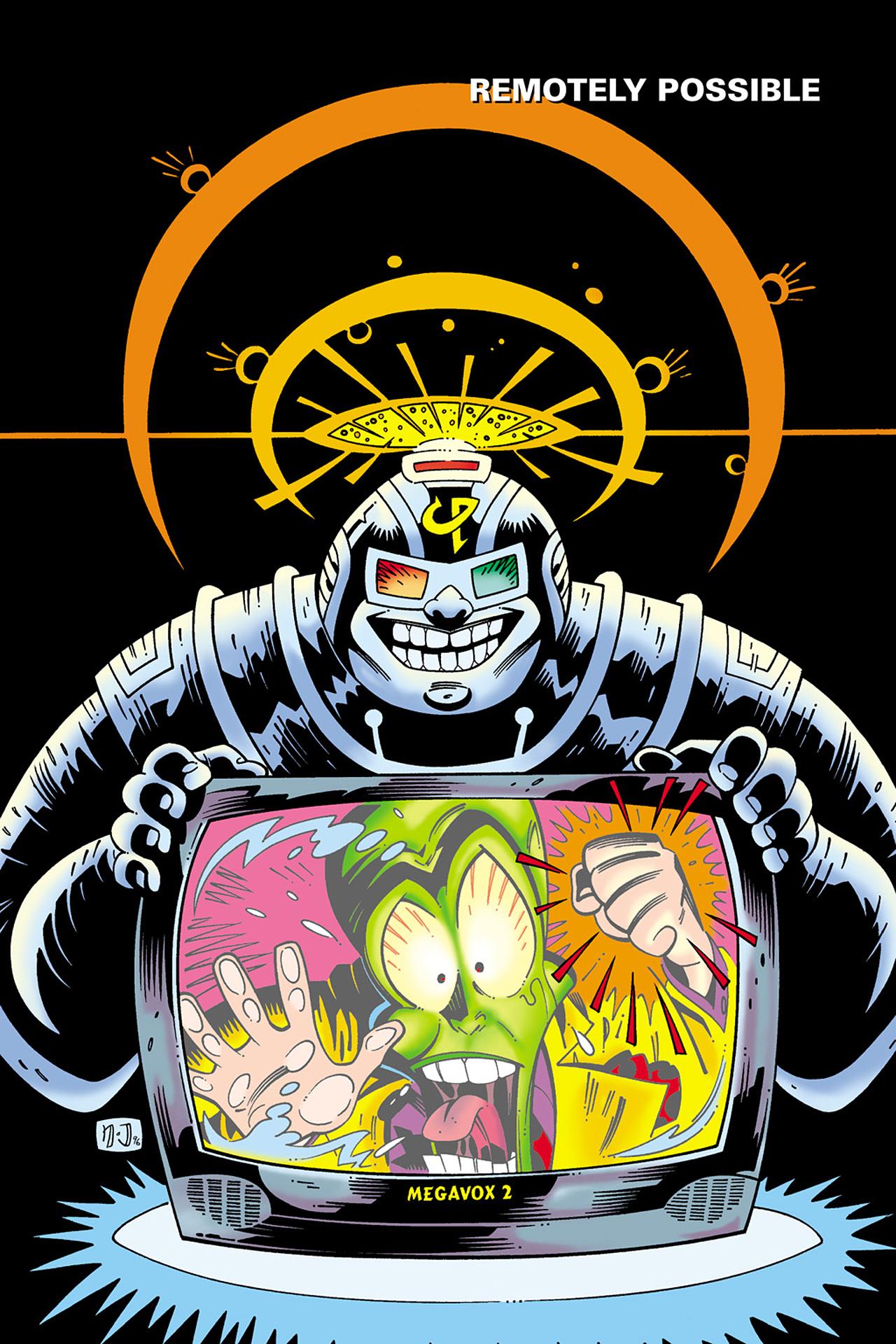 Read online Adventures Of The Mask Omnibus comic -  Issue #Adventures Of The Mask Omnibus Full - 206
