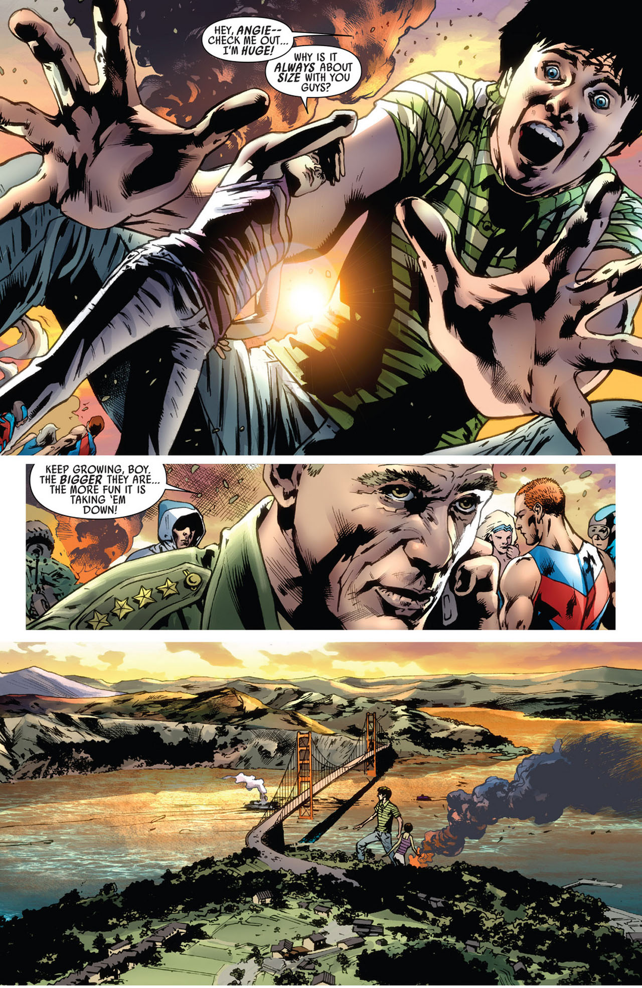 Read online America's Got Powers comic -  Issue #5 - 5