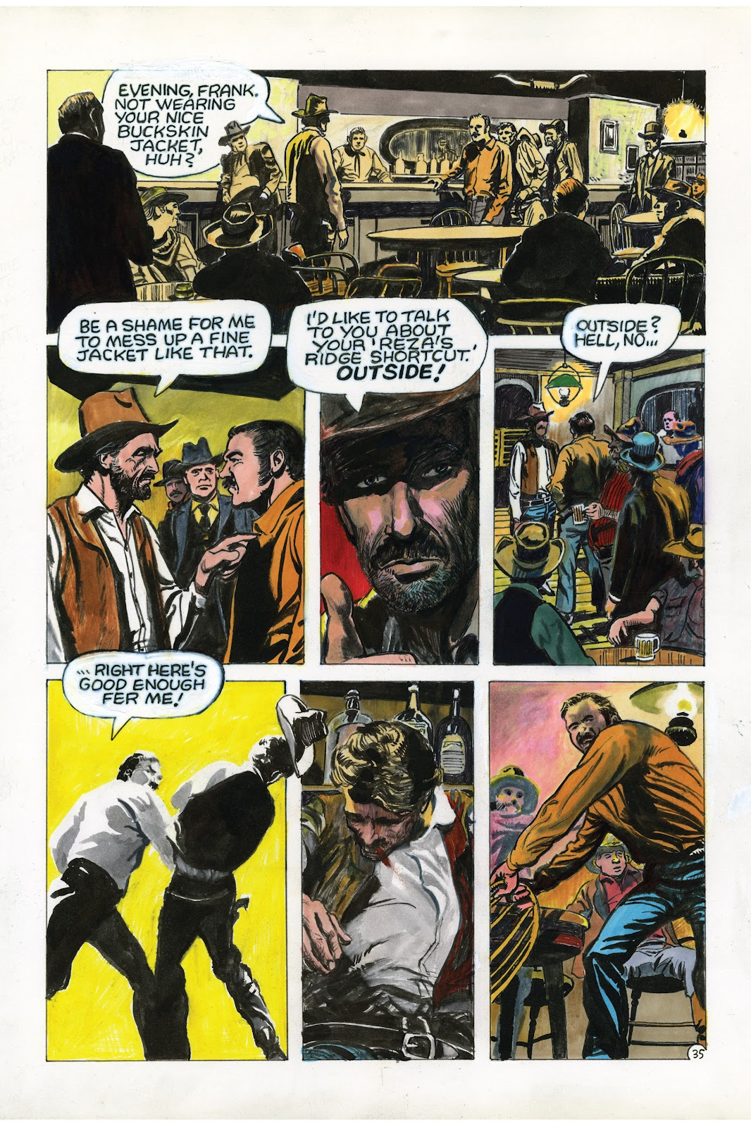 Read online Doug Wildey's Rio: The Complete Saga comic -  Issue # TPB (Part 3) - 23