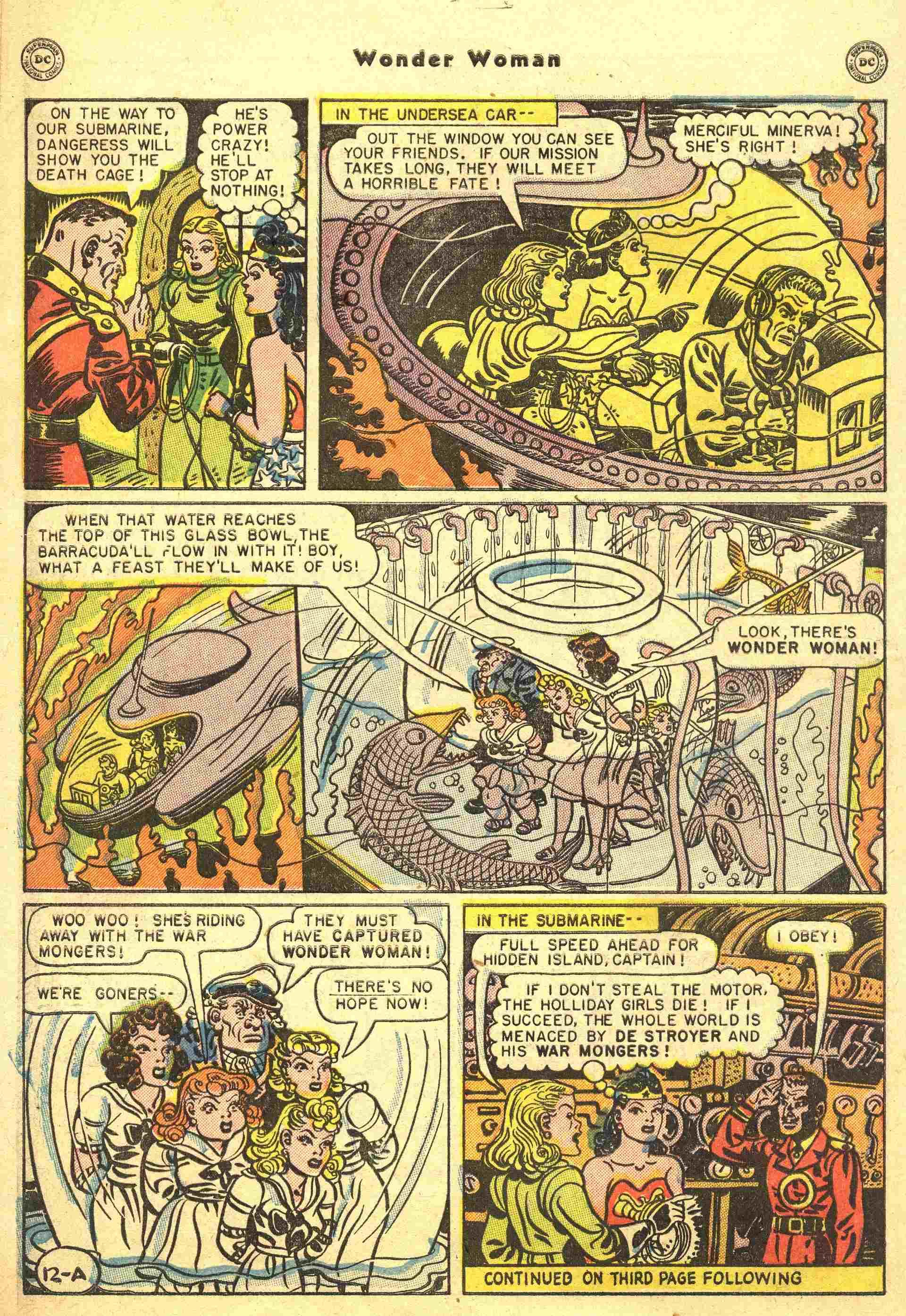 Read online Wonder Woman (1942) comic -  Issue #44 - 13