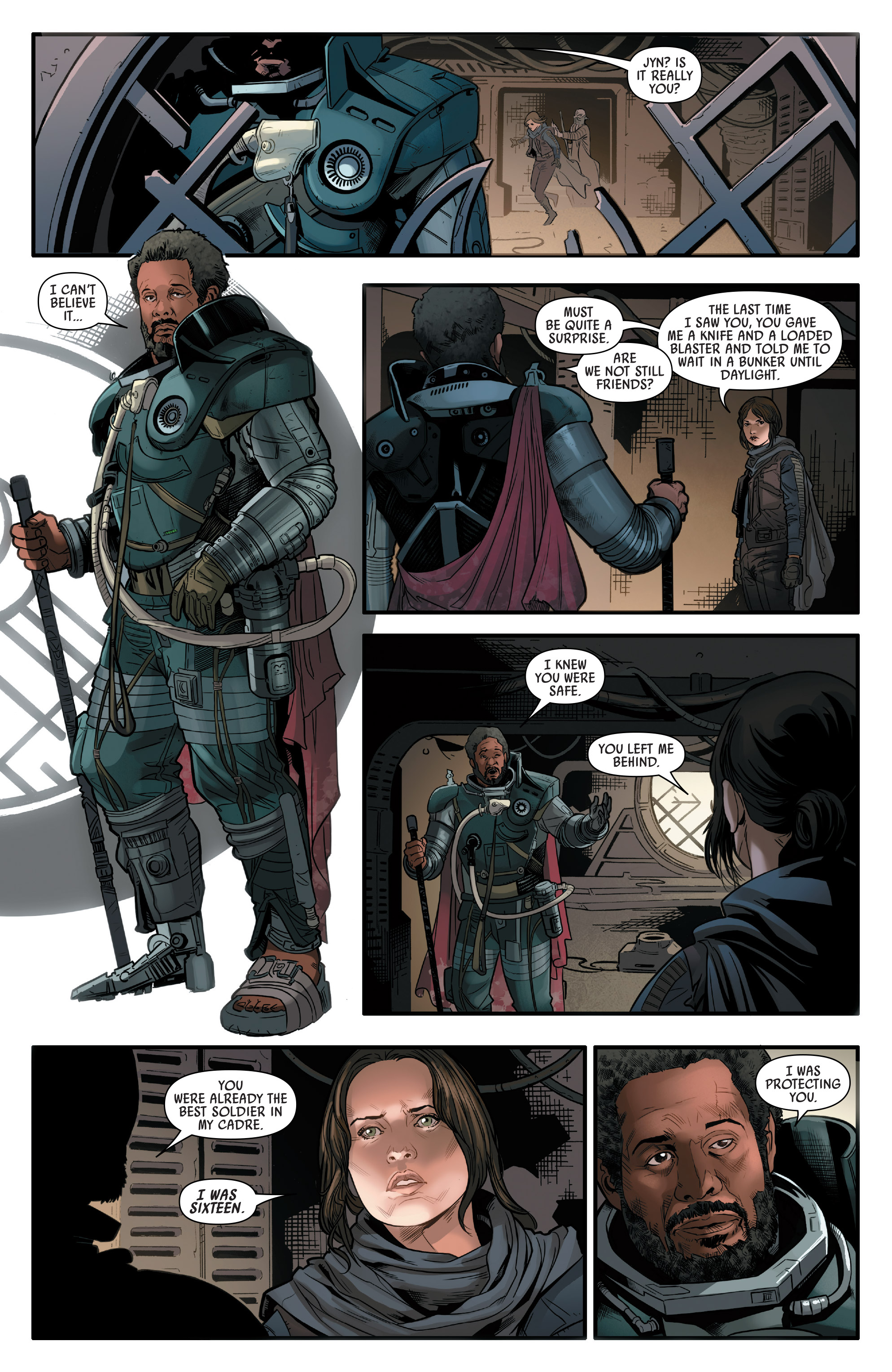Read online Star Wars: Rogue One Adaptation comic -  Issue #2 - 16