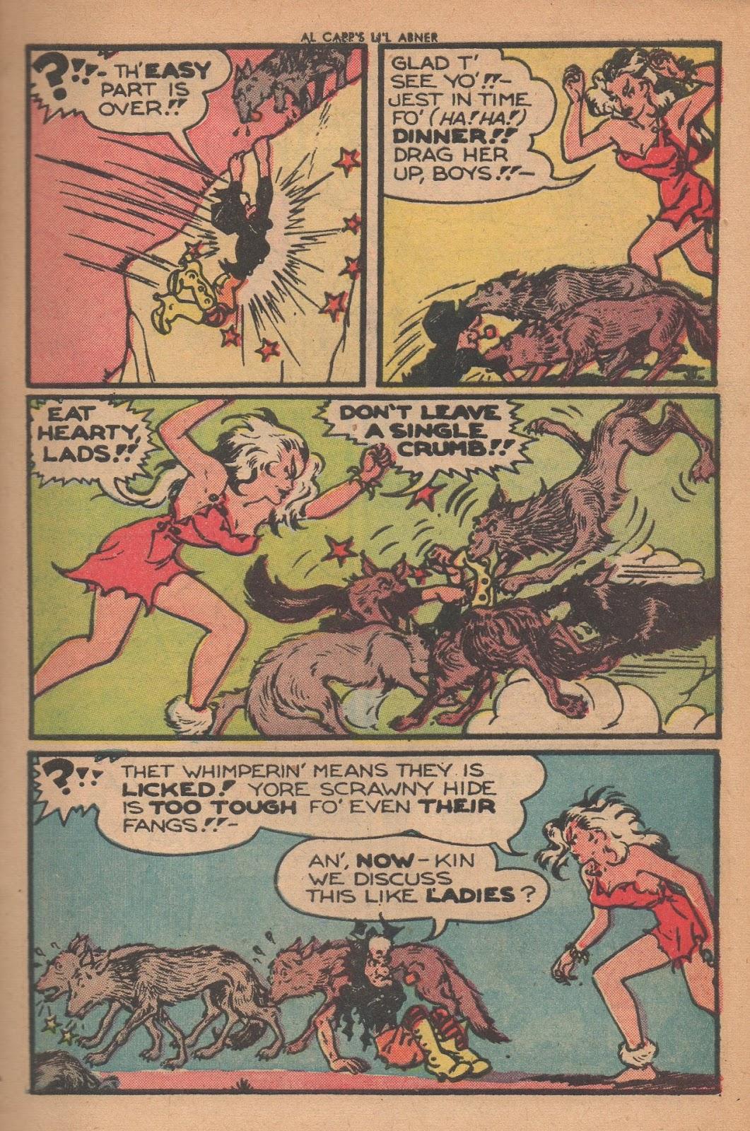 Li'l Abner Comics issue 77 - Page 7