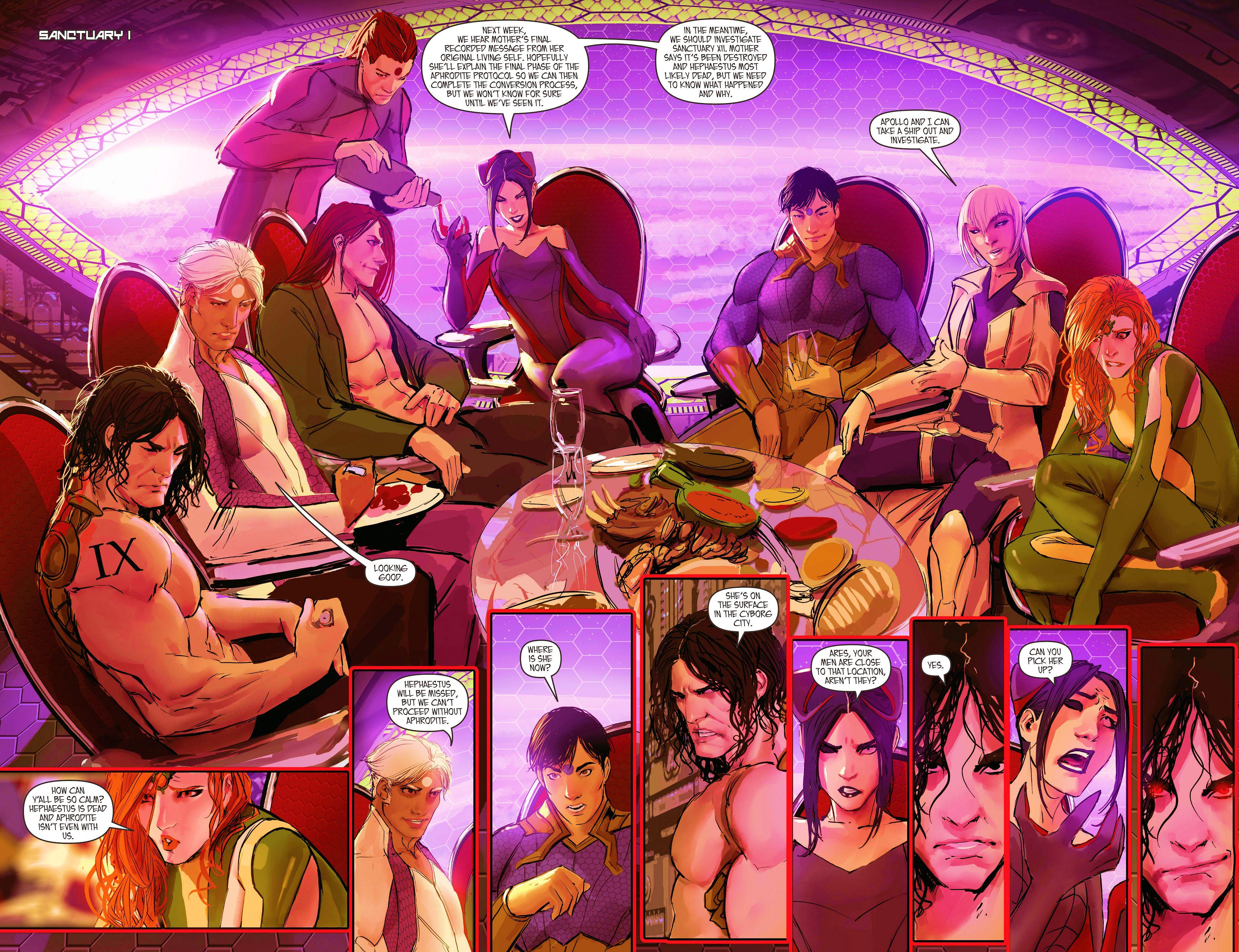 Read online Aphrodite IX (2013) comic -  Issue #10 - 10