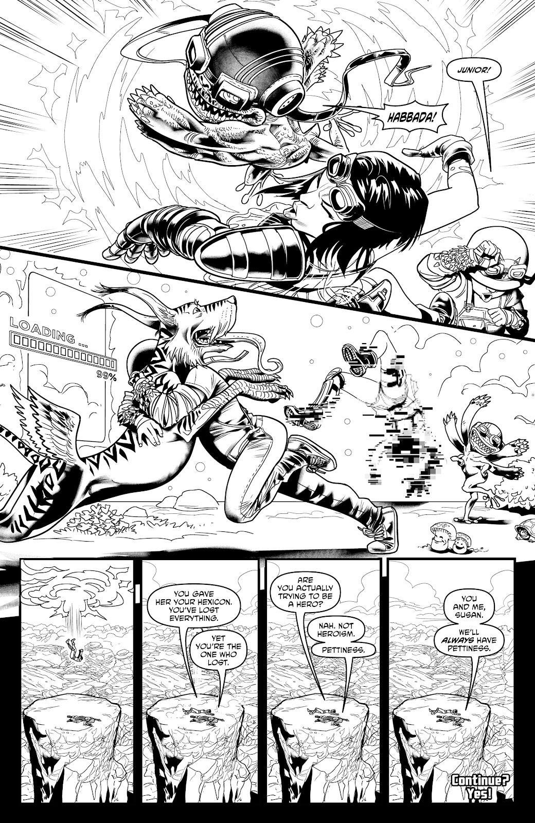Read online Alan Moore's Cinema Purgatorio comic -  Issue #17 - 32