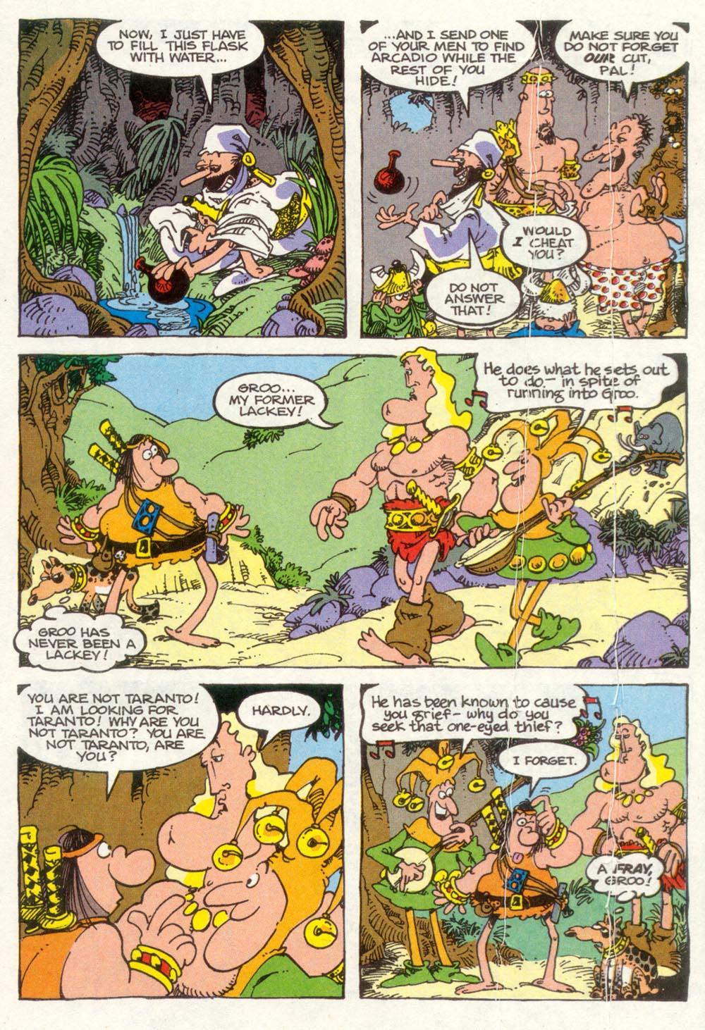 Read online Sergio Aragonés Groo the Wanderer comic -  Issue #92 - 11