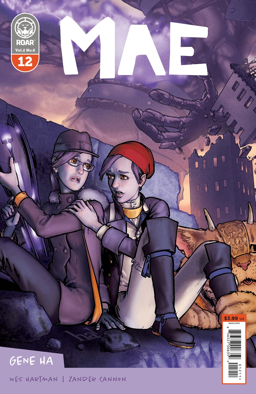 Read online Mae (2018) comic -  Issue #12 - 1